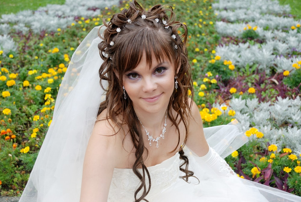 Невеста в парке весной - Женя Лайт - Фотограф Киев
