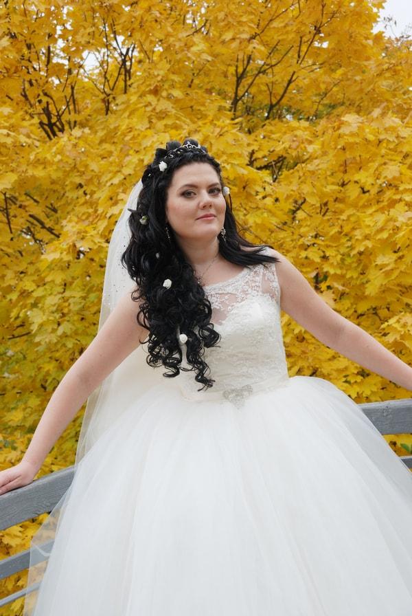 Свадебная фотосессия осенью - Женя Лайт - Фотограф Киев