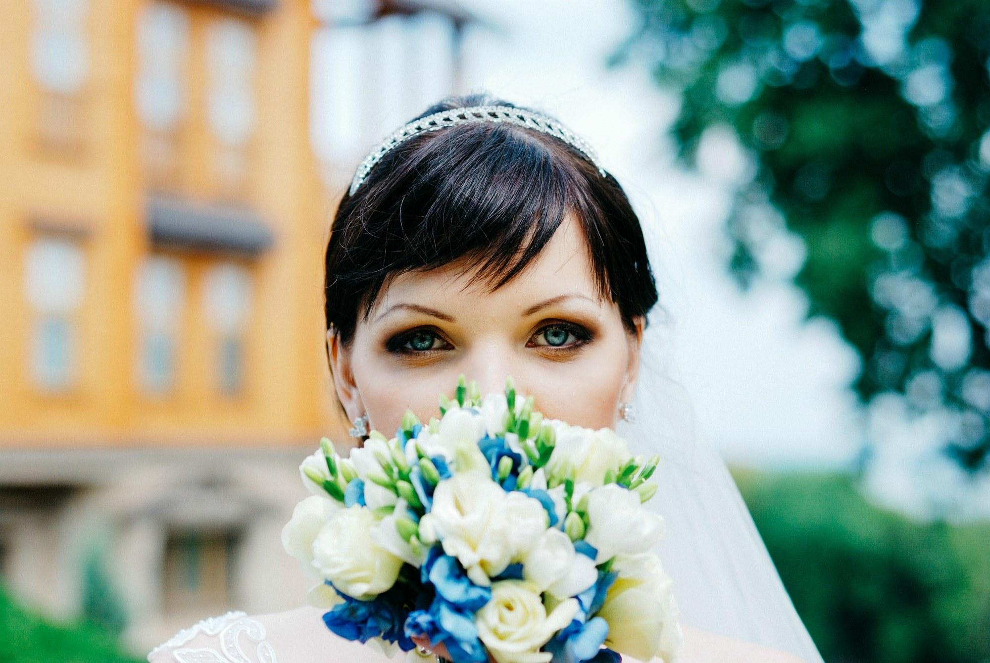 Загадочный взгляд невесты - Фотограф Киев - Женя Лайт