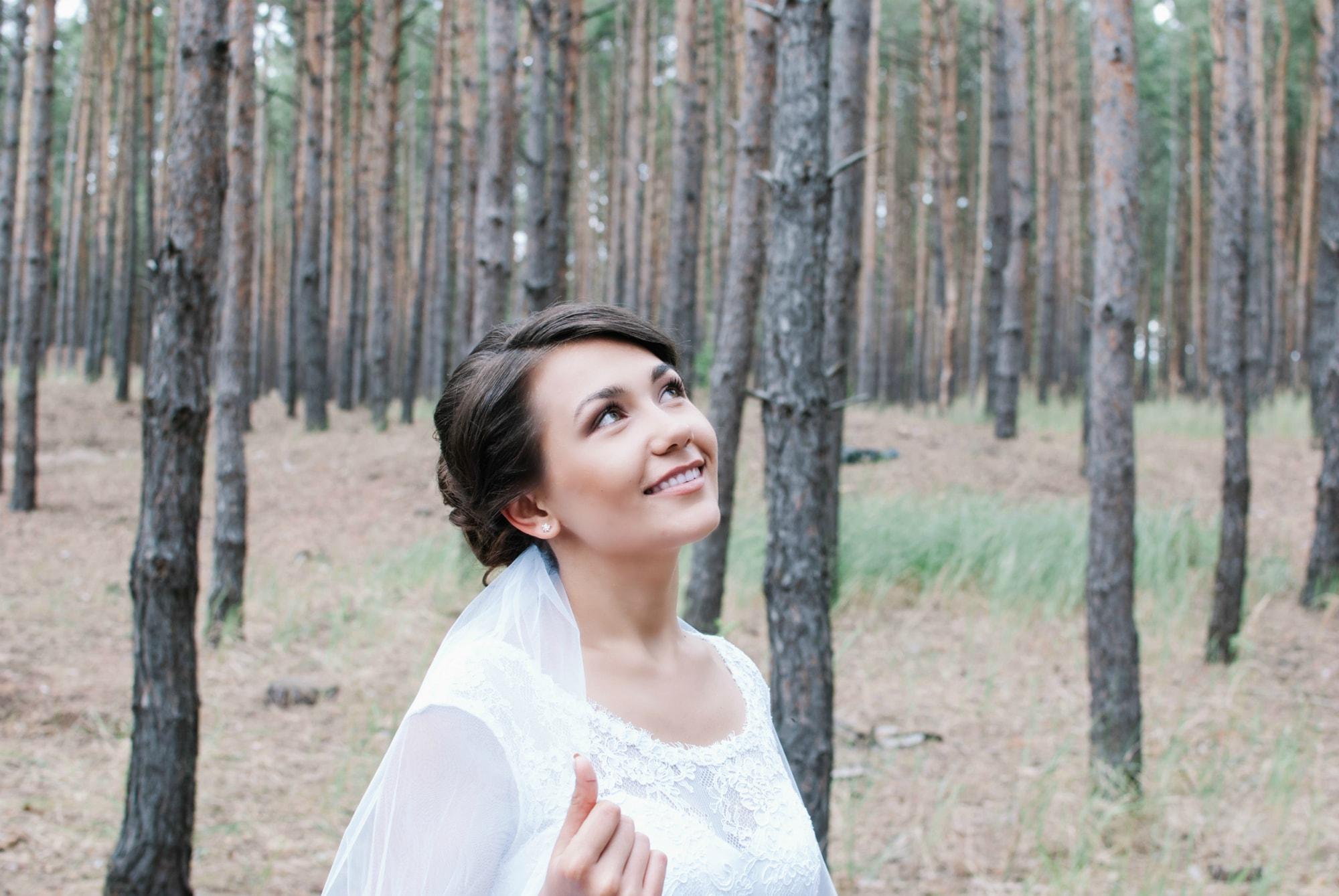 Мечты невесты в лесу - Фотограф Киев - Женя Лайт