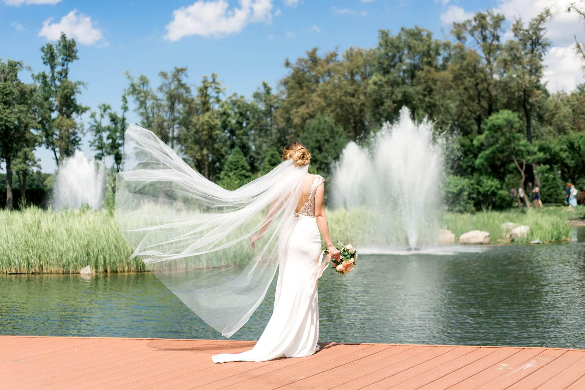 Свадебная фотосессия в Межигорье