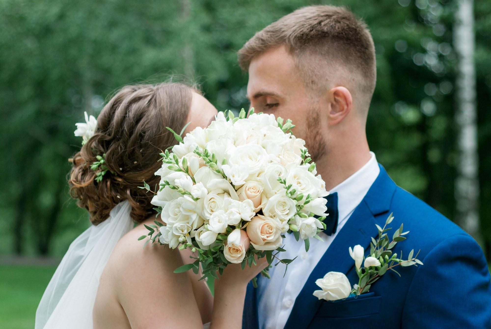 Свадебная фотосессия в Межигорье - Фотограф Киев - Женя Лайт