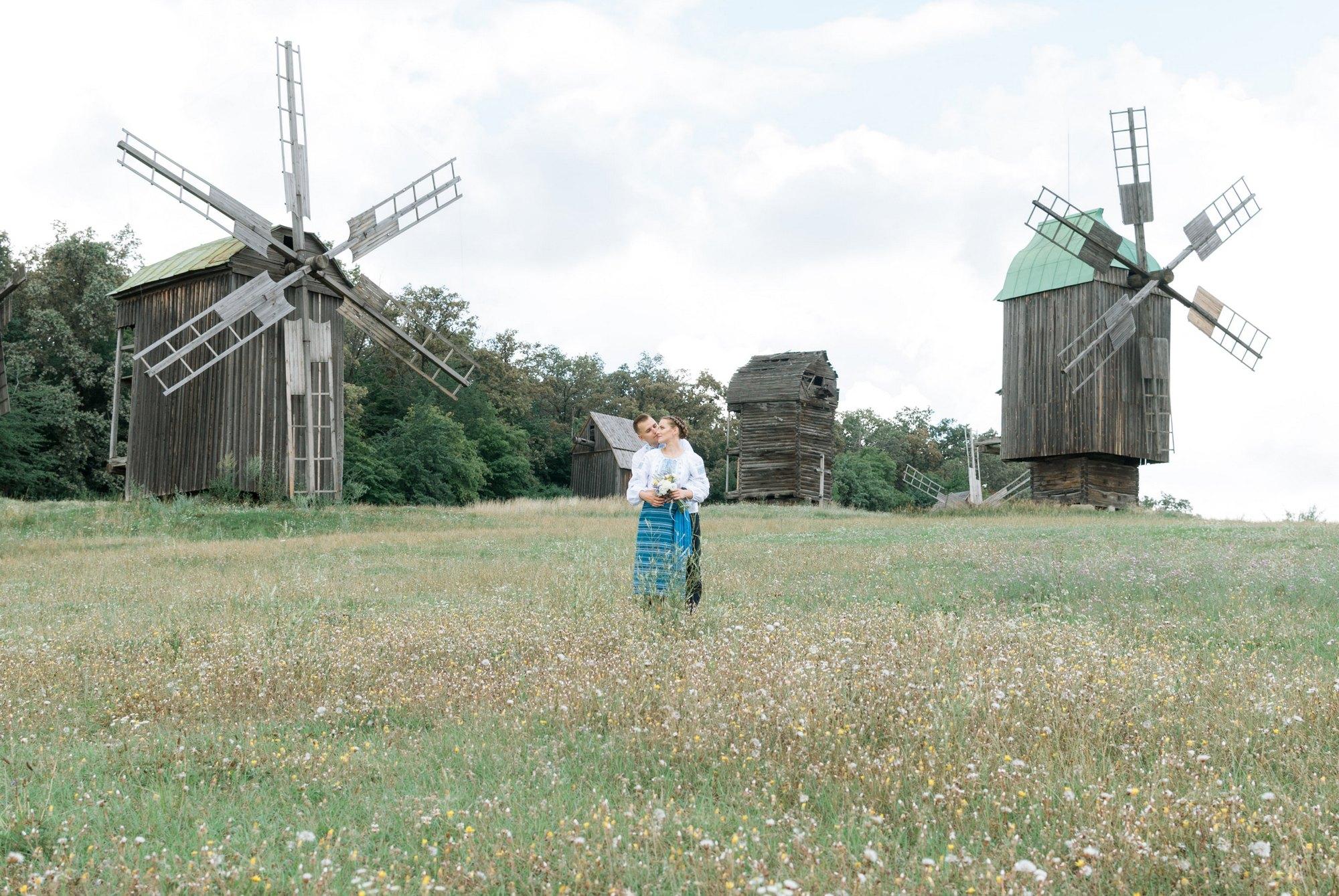 Свадебная фотосессия летом в Пирогово