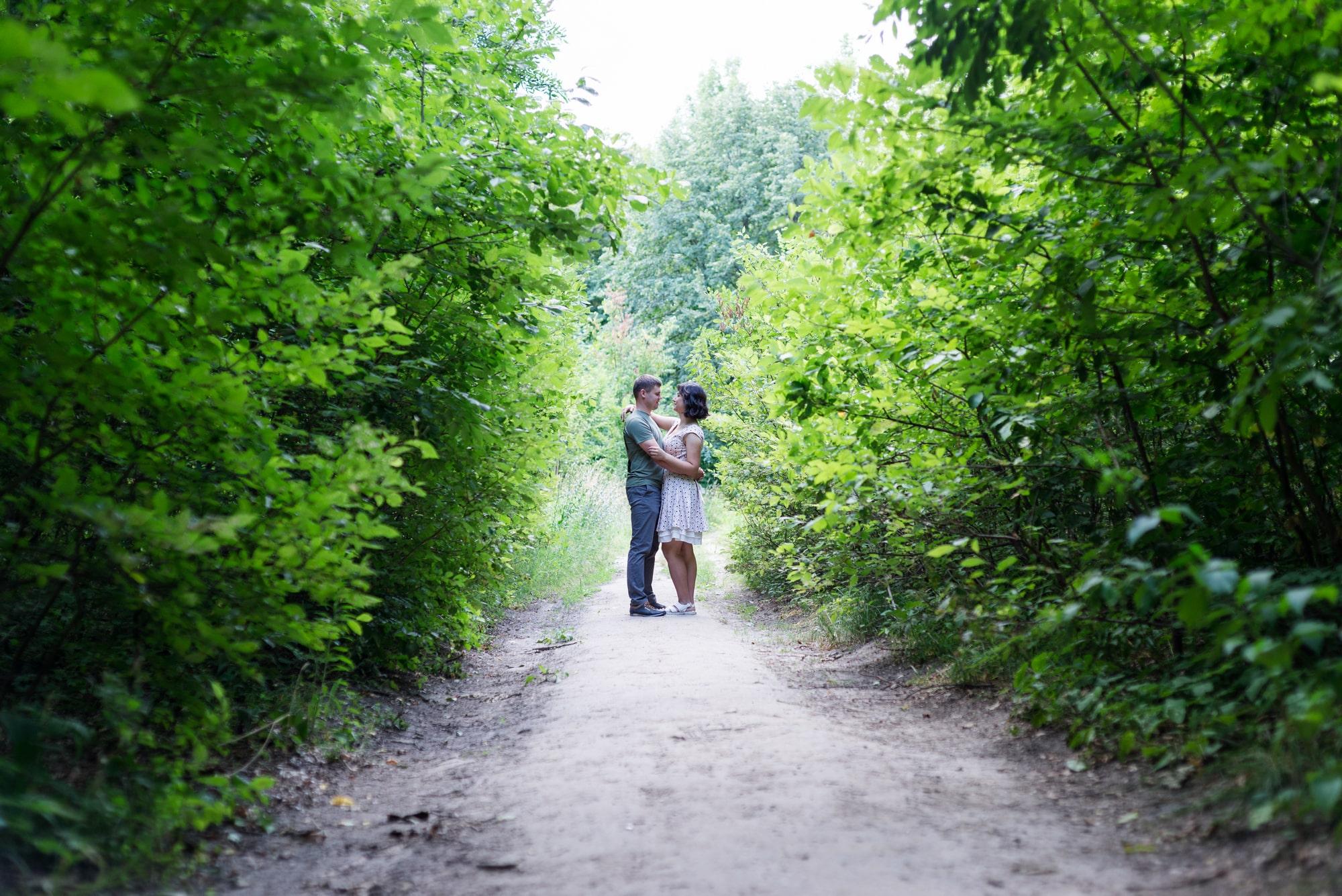 Фотосессия Love Story в Киеве - Фотограф Женя Лайт