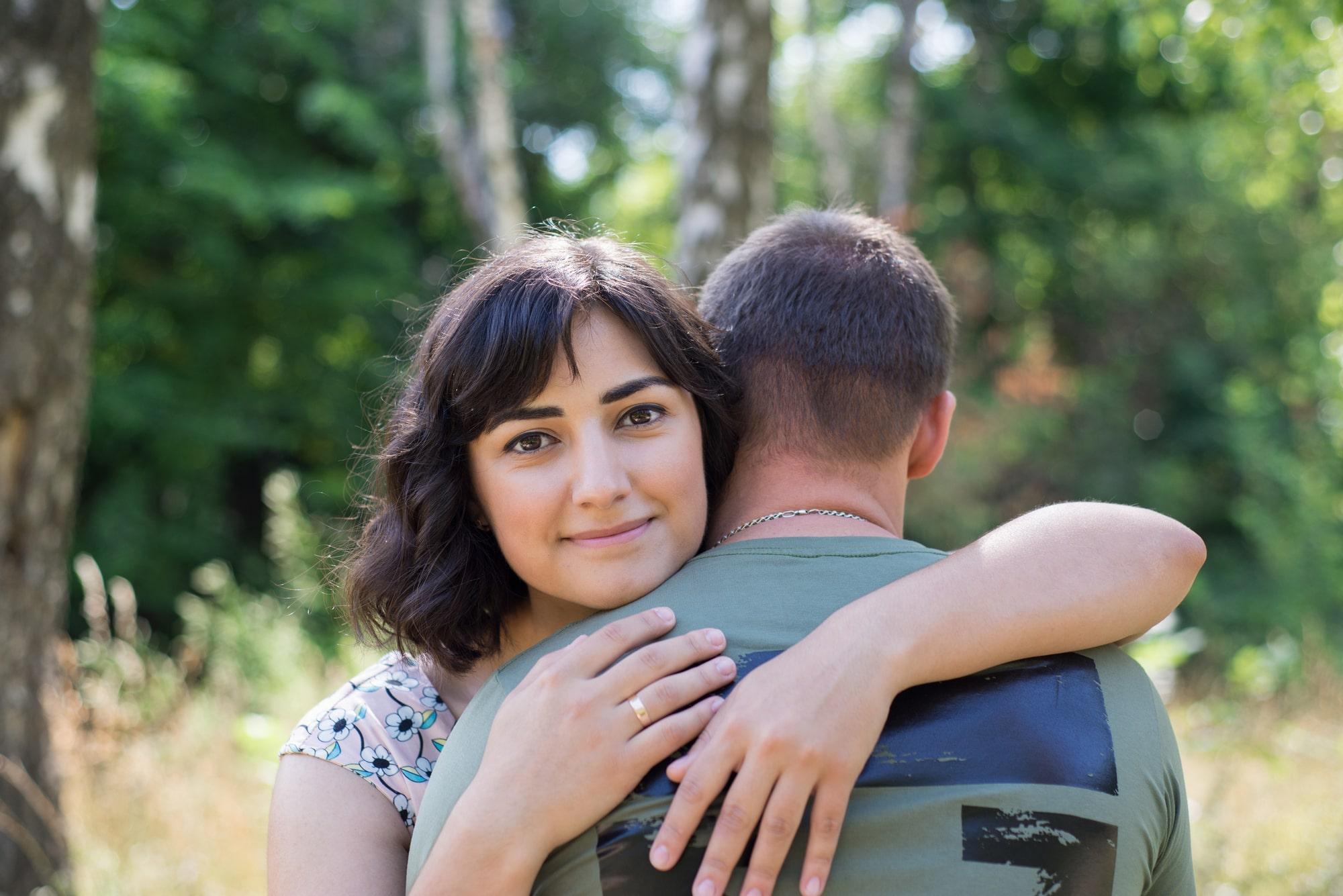 Фотосессия Love Story в обьятьях жены - Фотограф Женя Лайт