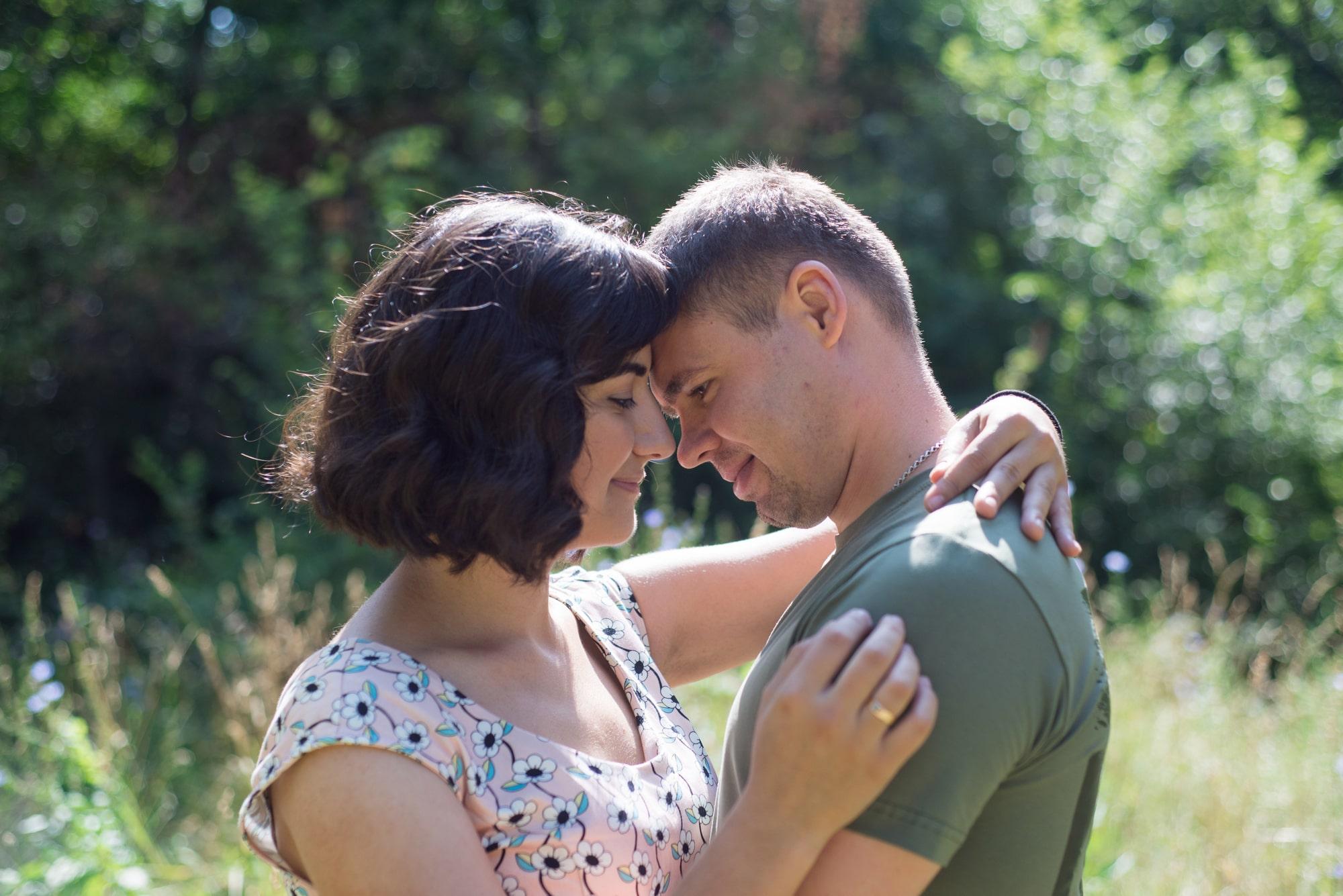 Чувственная фотосессия Love Story в Киеве - Фотограф Женя Лайт