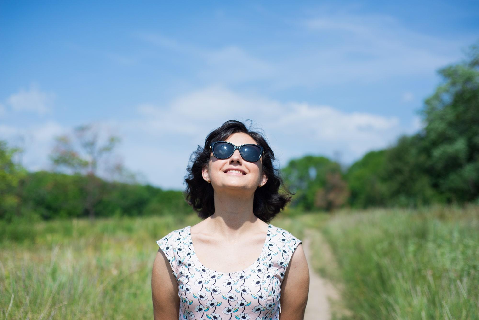 Фотосессия Love Story в солнечных очках - Фотограф Женя Лайт
