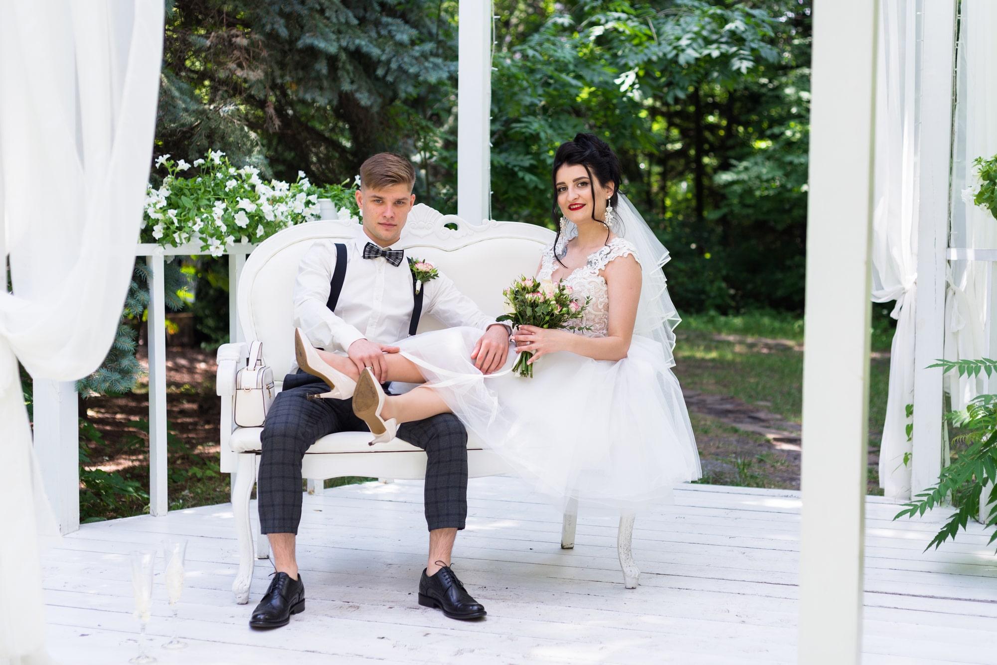 Свадебная фотосъемка в студии Плей - Фотограф Женя Лайт