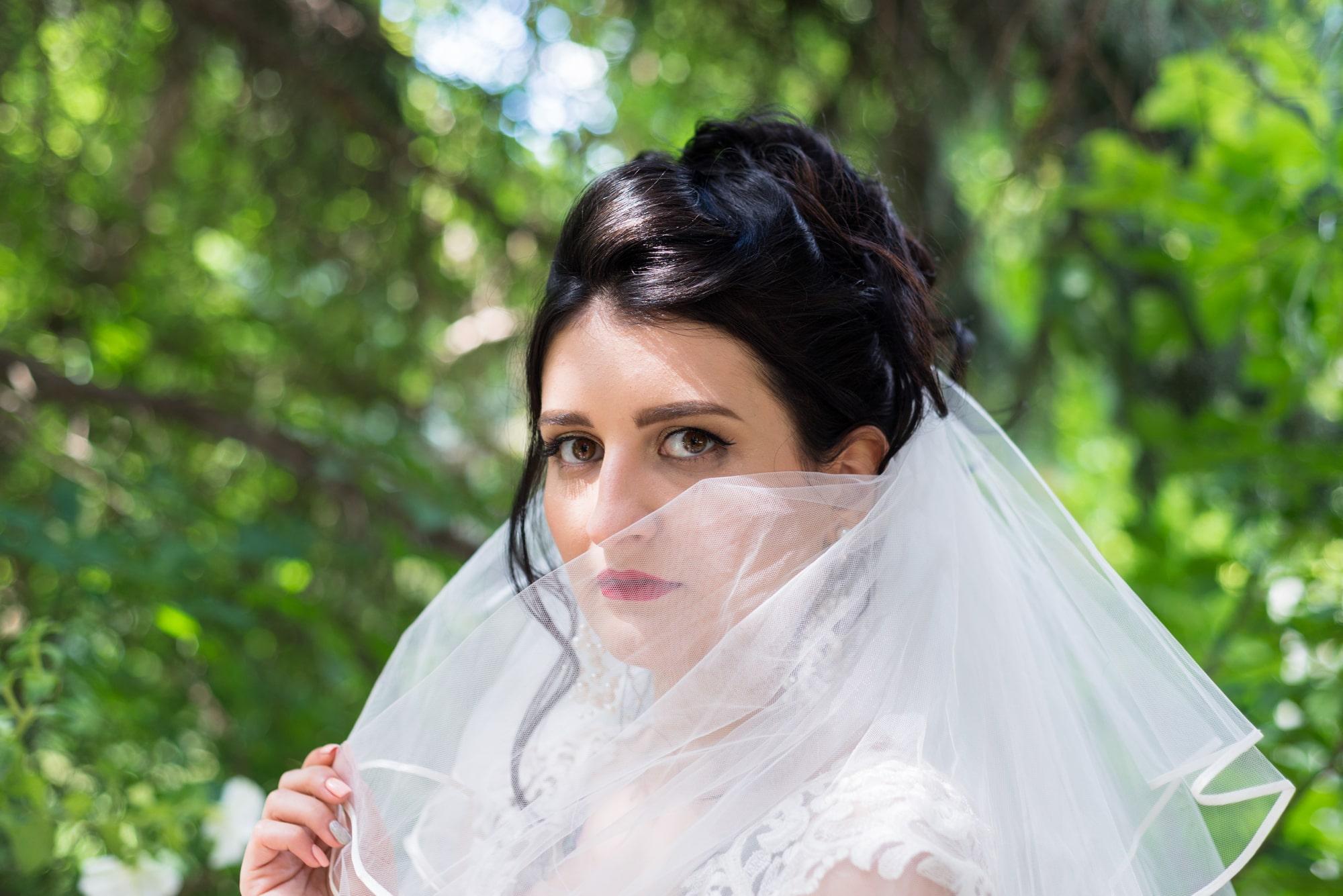 Свадебная фотосъемка в студии Плей - взгляд невесты