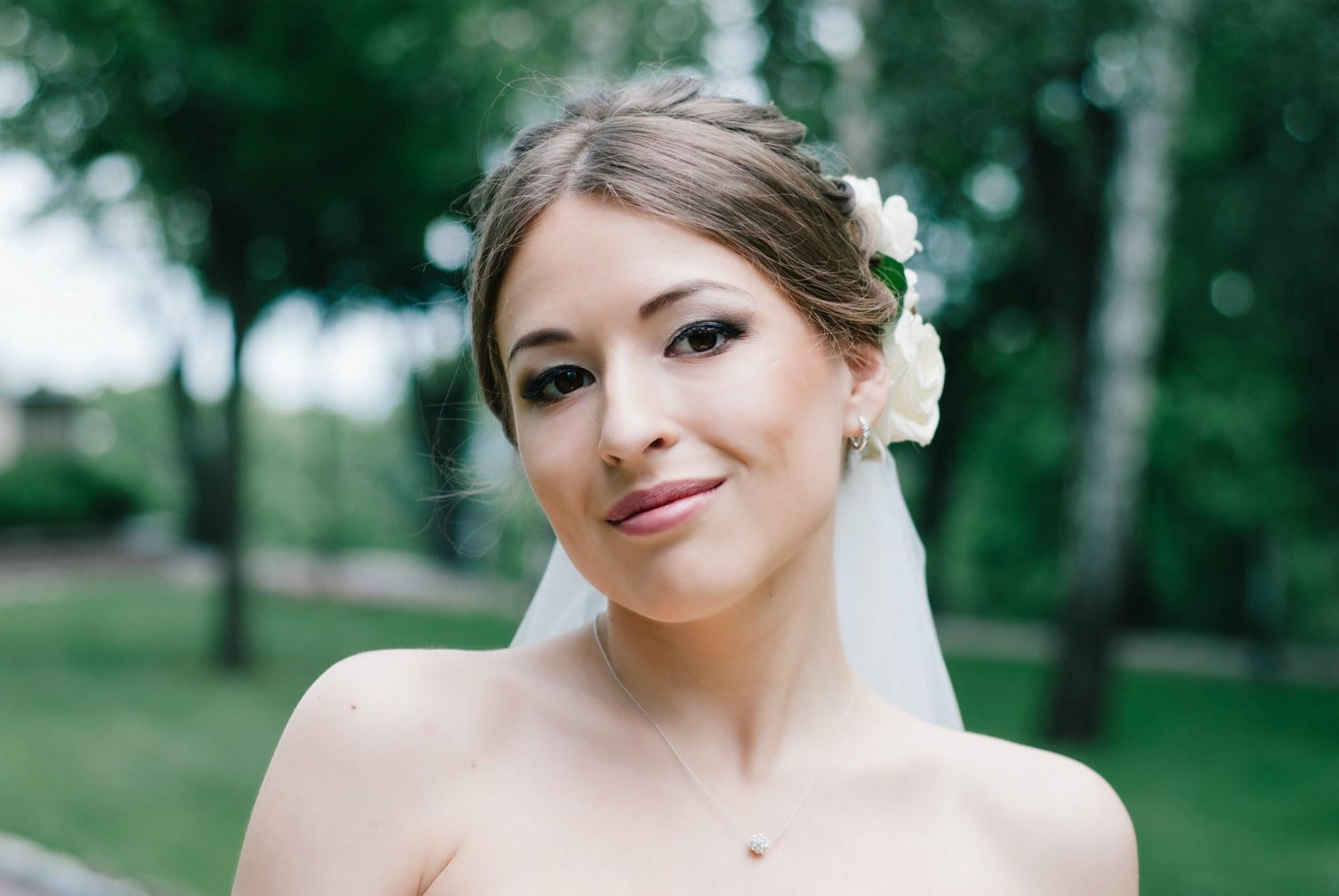 Свадебная фотосессия в парке - Фотограф Киев - Женя Лайт