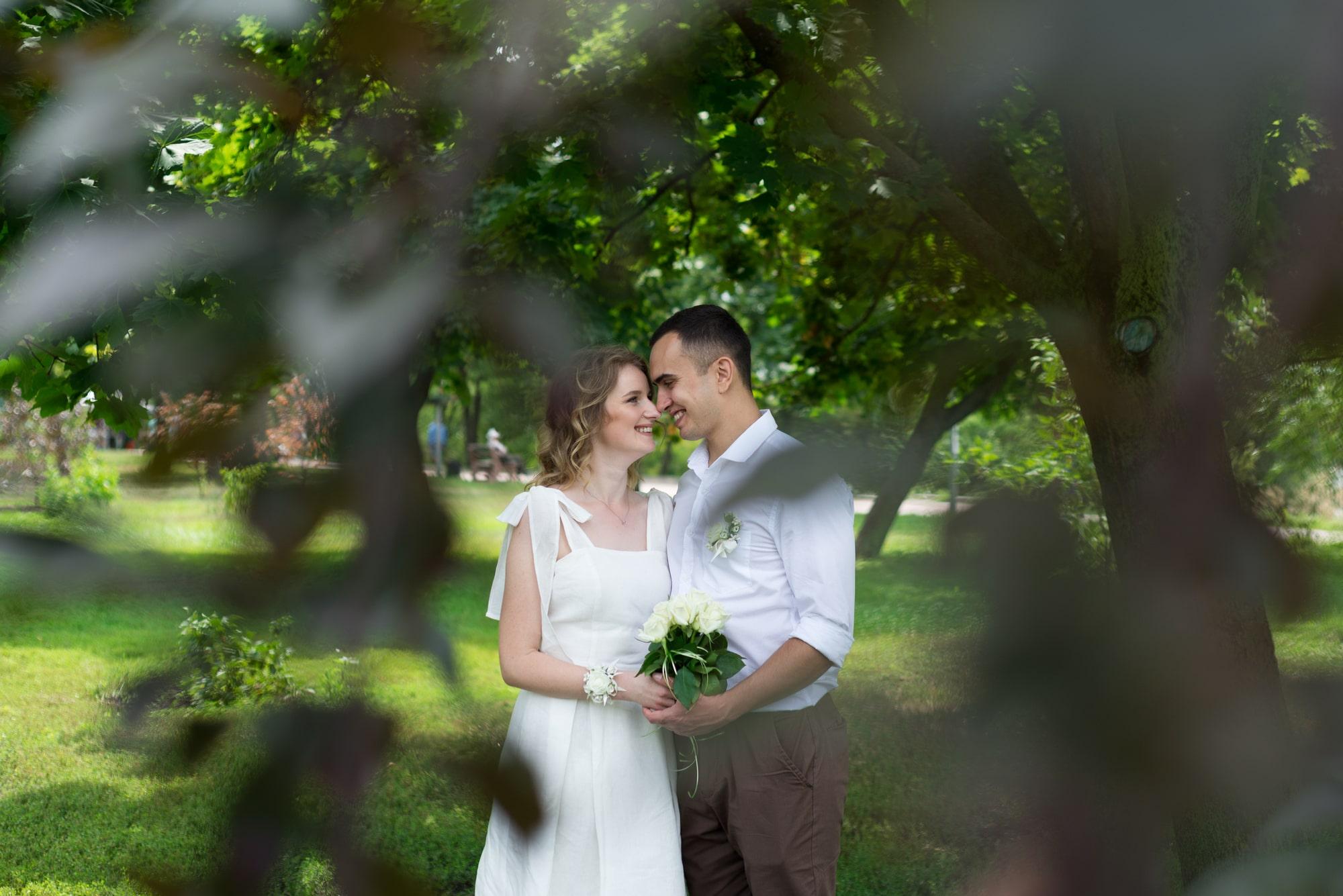 Фотосессия свадебная на Березняках - фотограф Женя Лайт