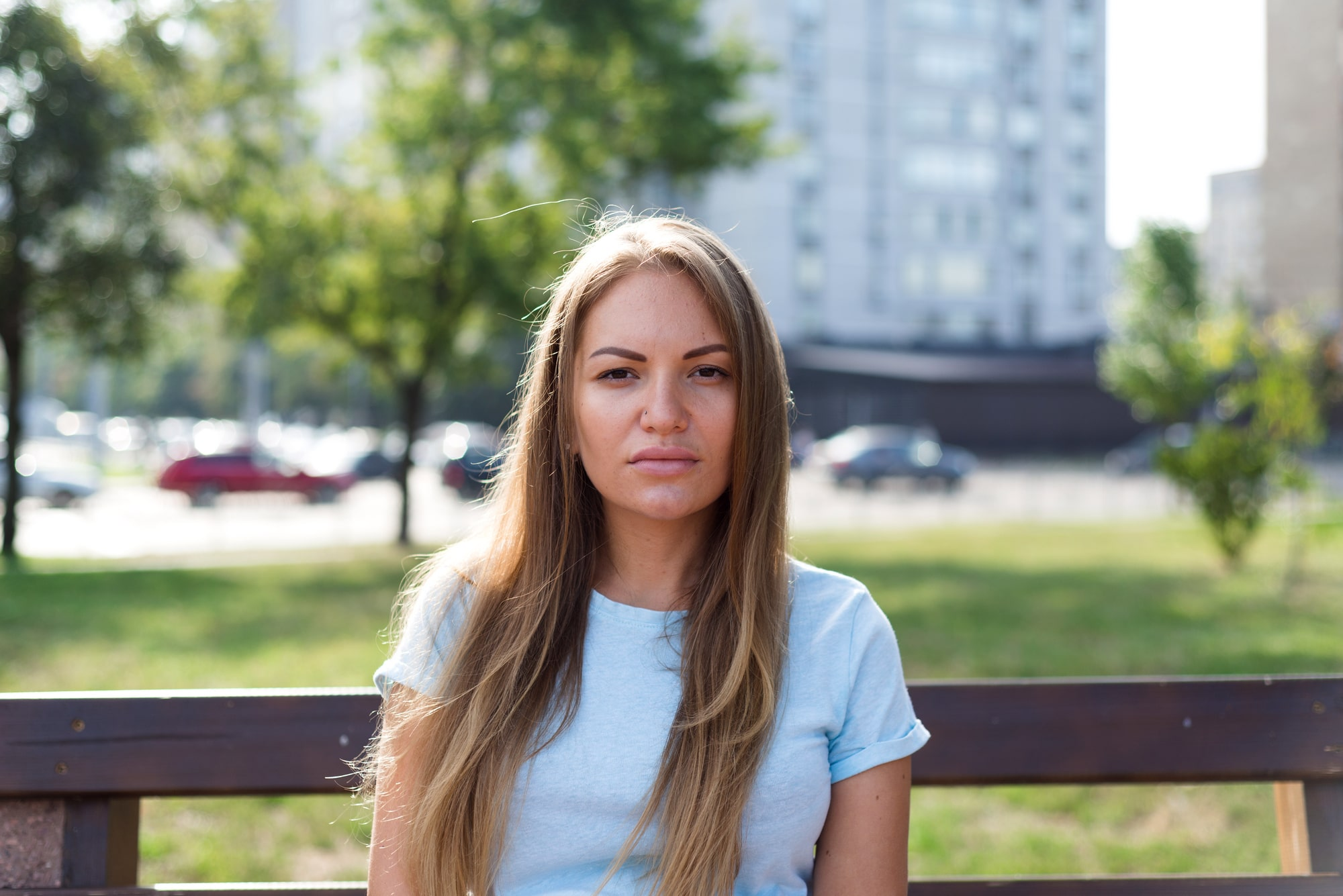 Фотосессия для беременных в Киеве - девушка