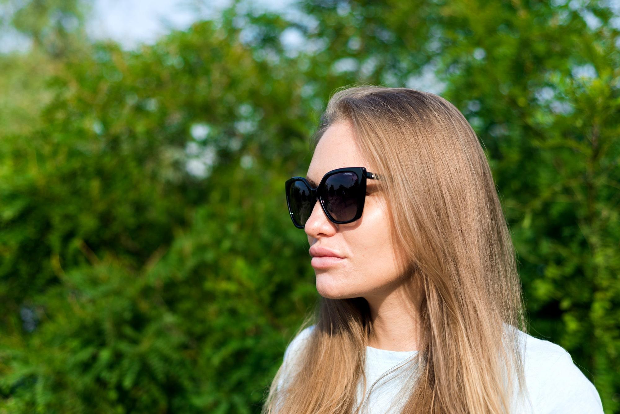Фотосессия для беременных в Киеве - девушка в очках
