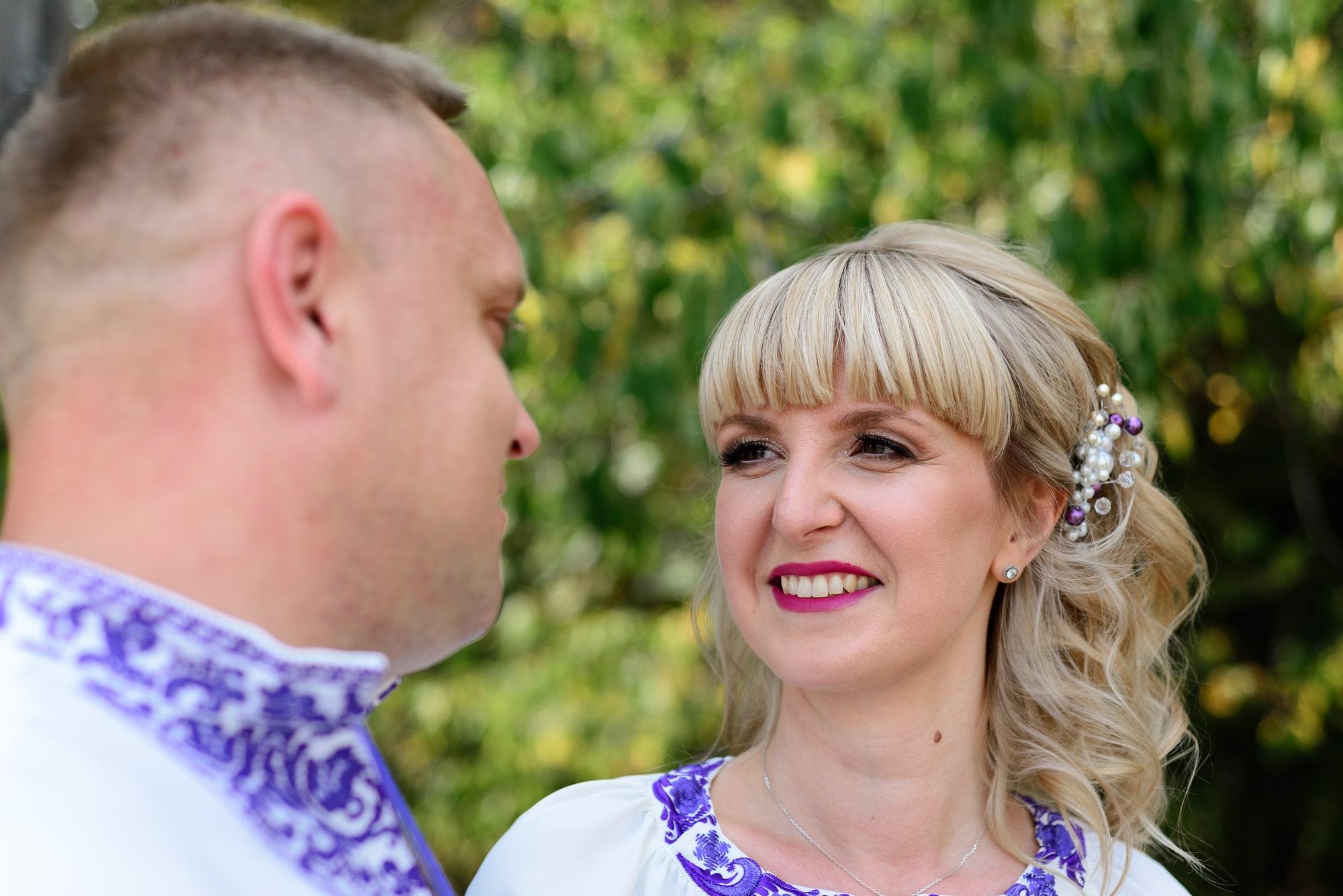 Свадебная фотосессия в Пирогово - счастливая невеста