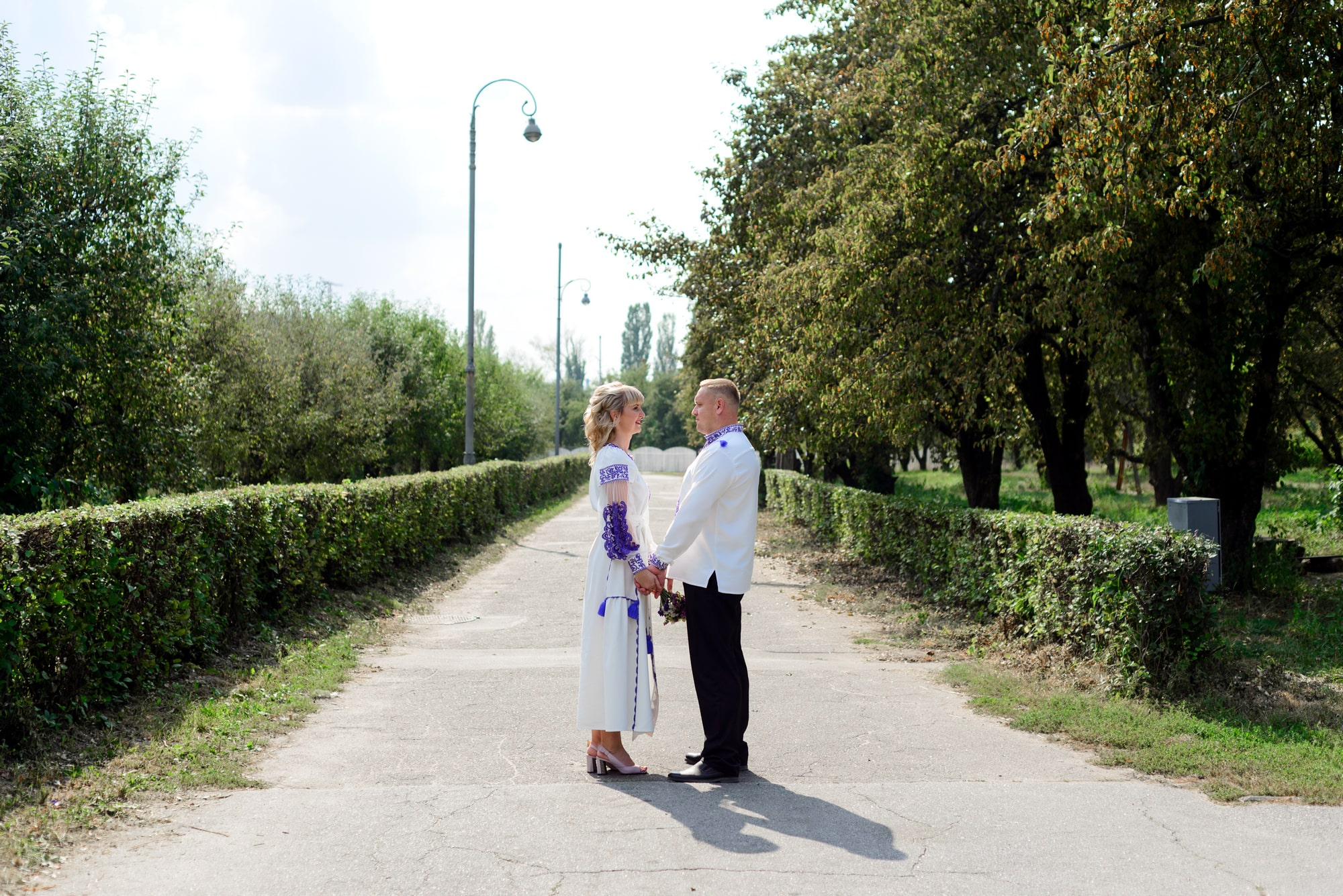 Свадебная фотосессия на Вднх - вместе