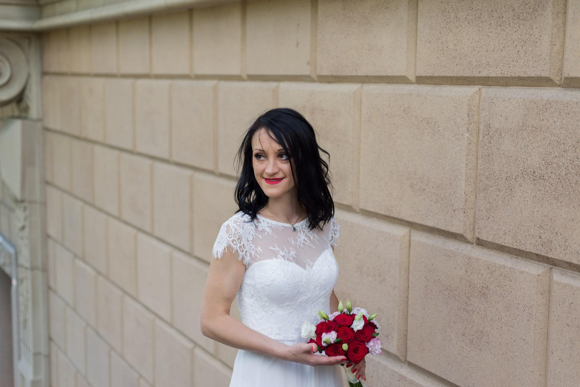 Свадебная фотосъемка в августе - взгляд невесты