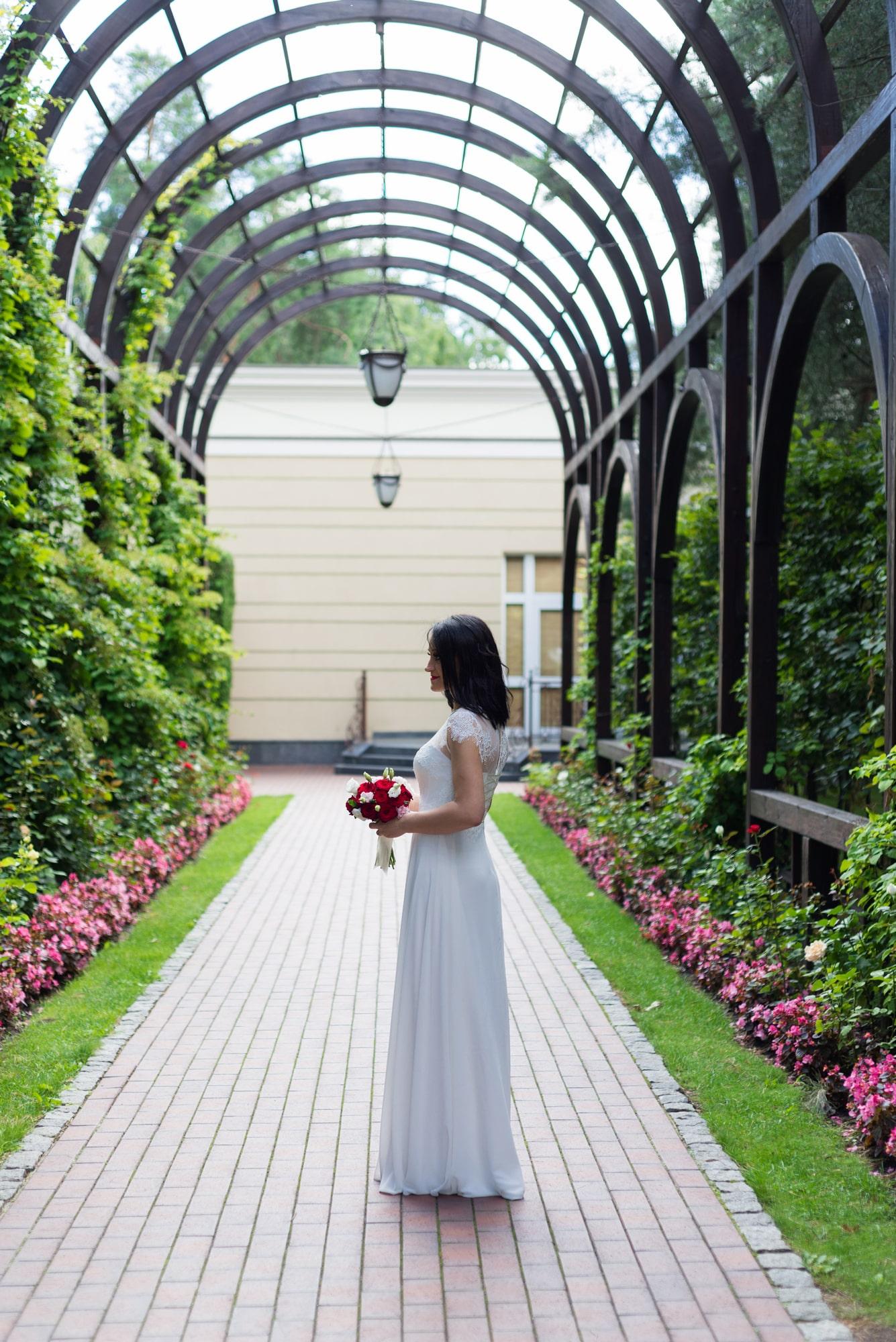 Свадебная фотосъемка в августе - стиль невесты
