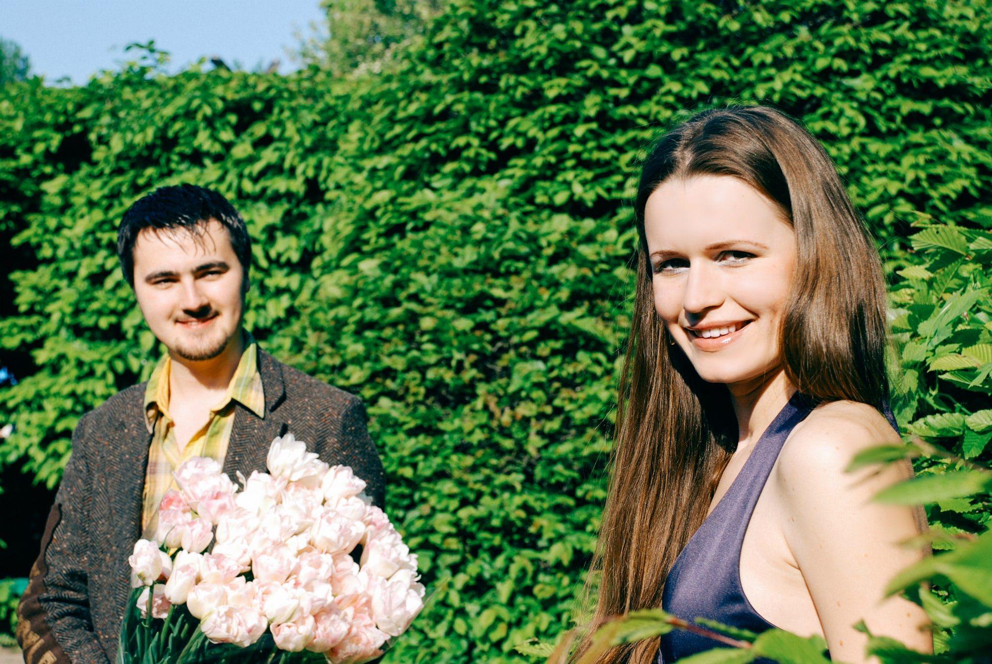 Знакомство в ботсаду - Фотограф Киев - Женя Лайт