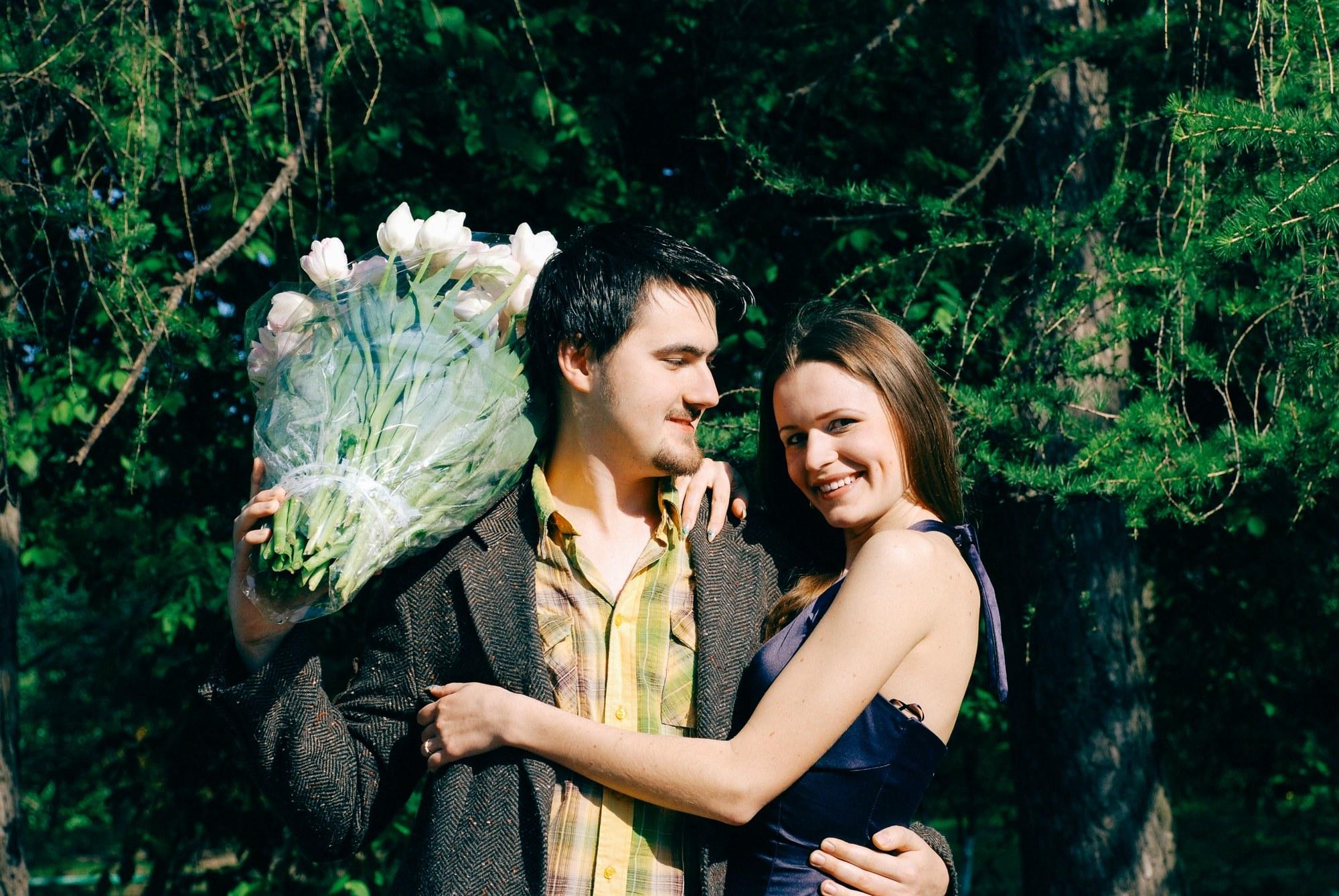 История любви молодой пары - Фотограф Киев - Женя Лайт