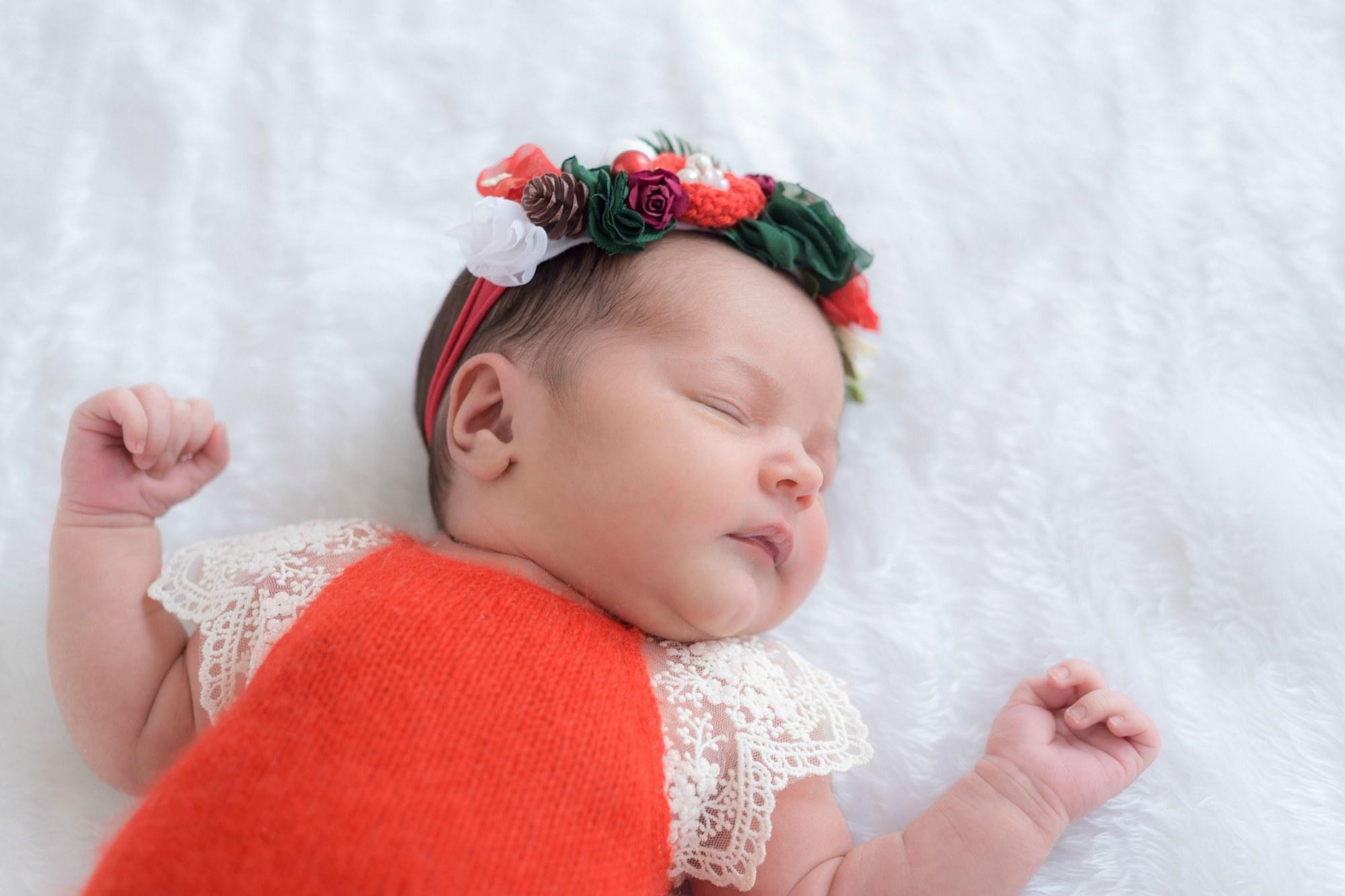 Фотосессия новорожденной девочки - newborn