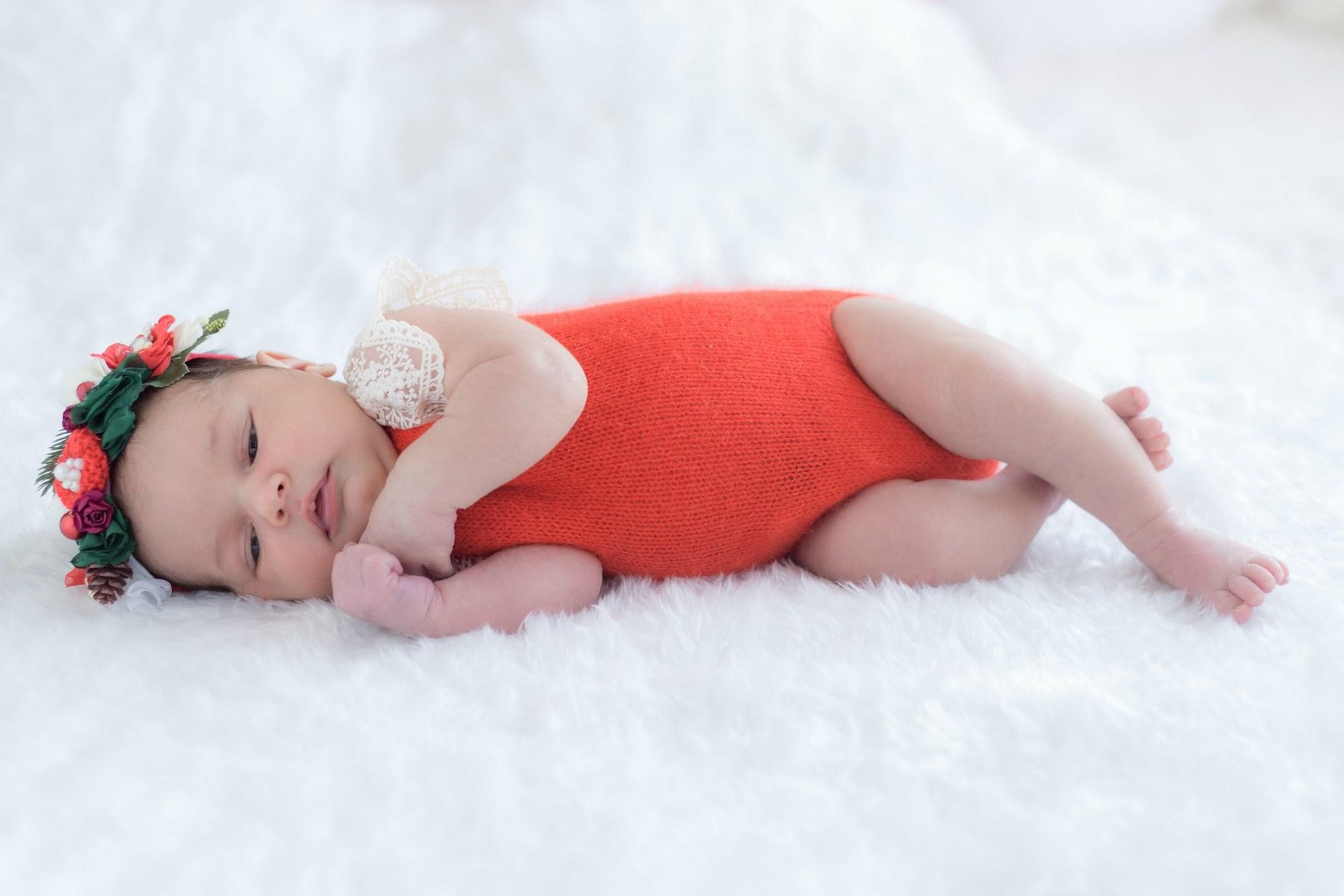 Фотосет новорожденной девочки