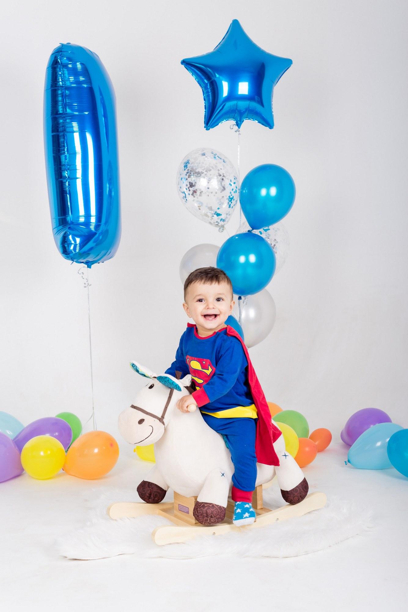 Детская фотосессия на день рождения