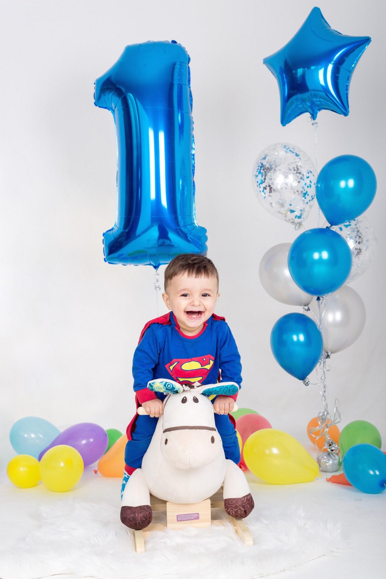 Первый день рождения на фотосессии
