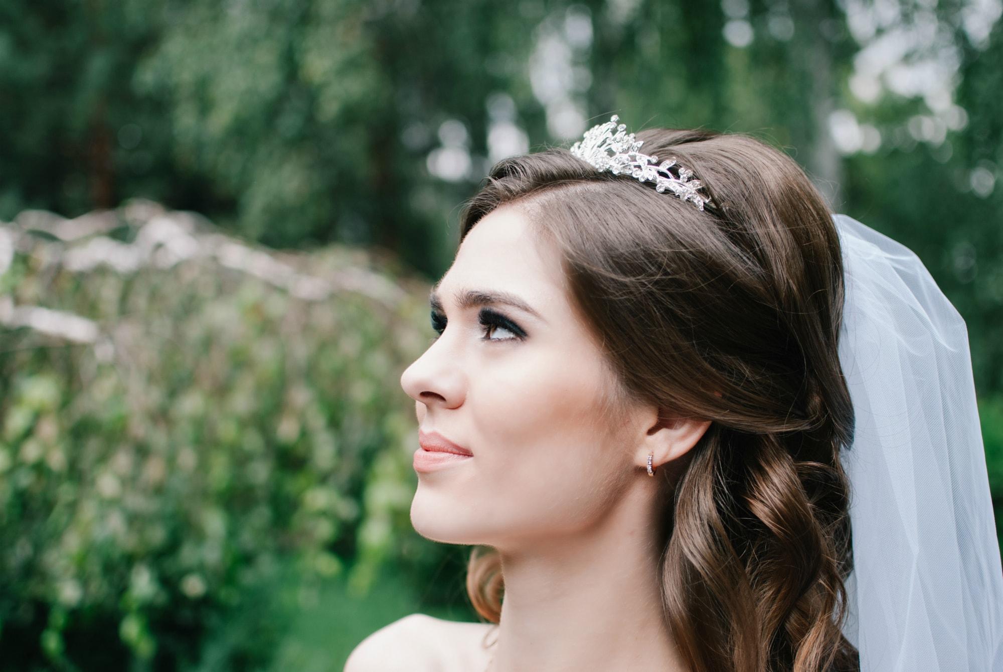 Фотография невесты в парке - Фотограф Киев - Женя Лайт