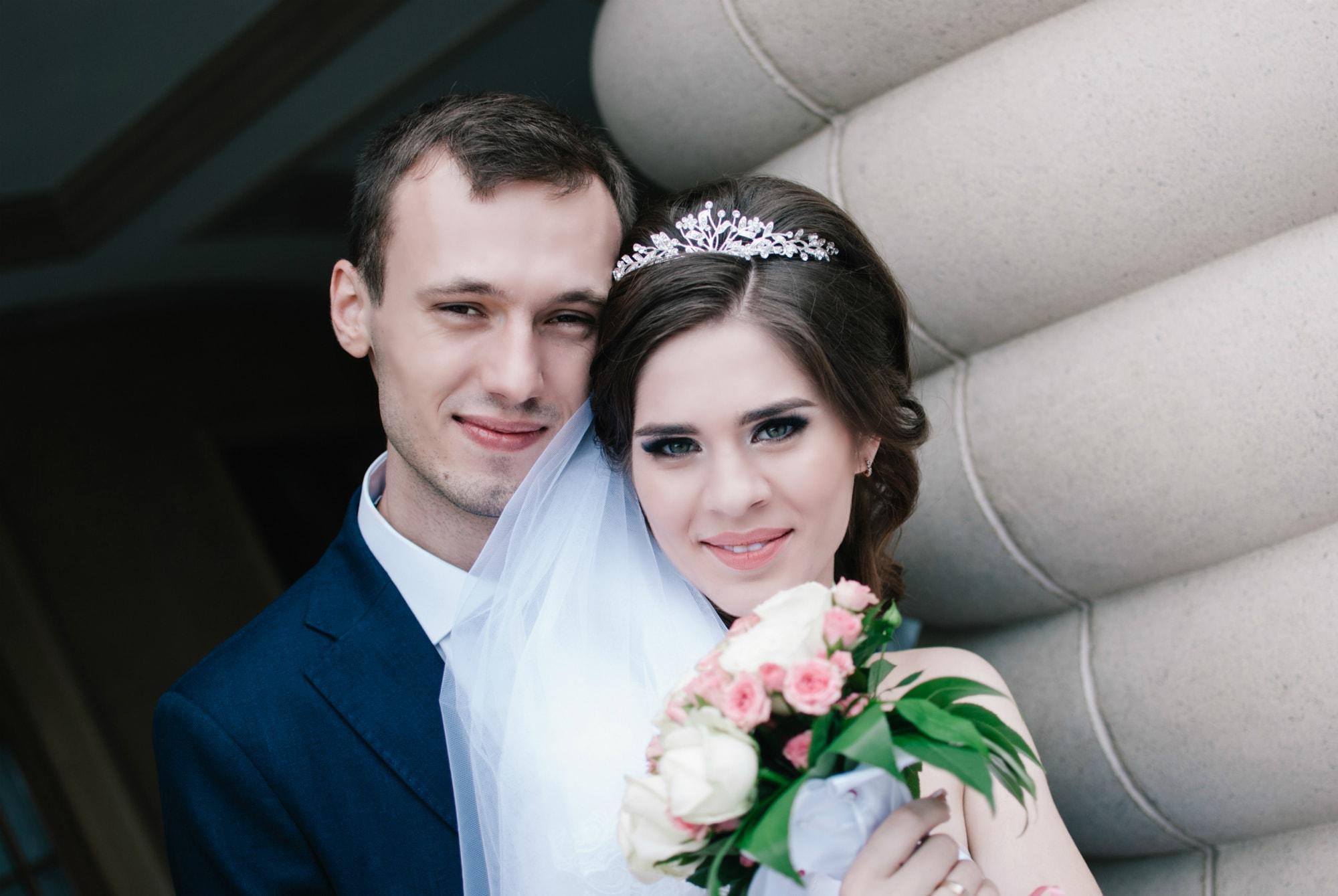 Свадебная нежность любящей пары - Фотограф Киев - Женя Лайт