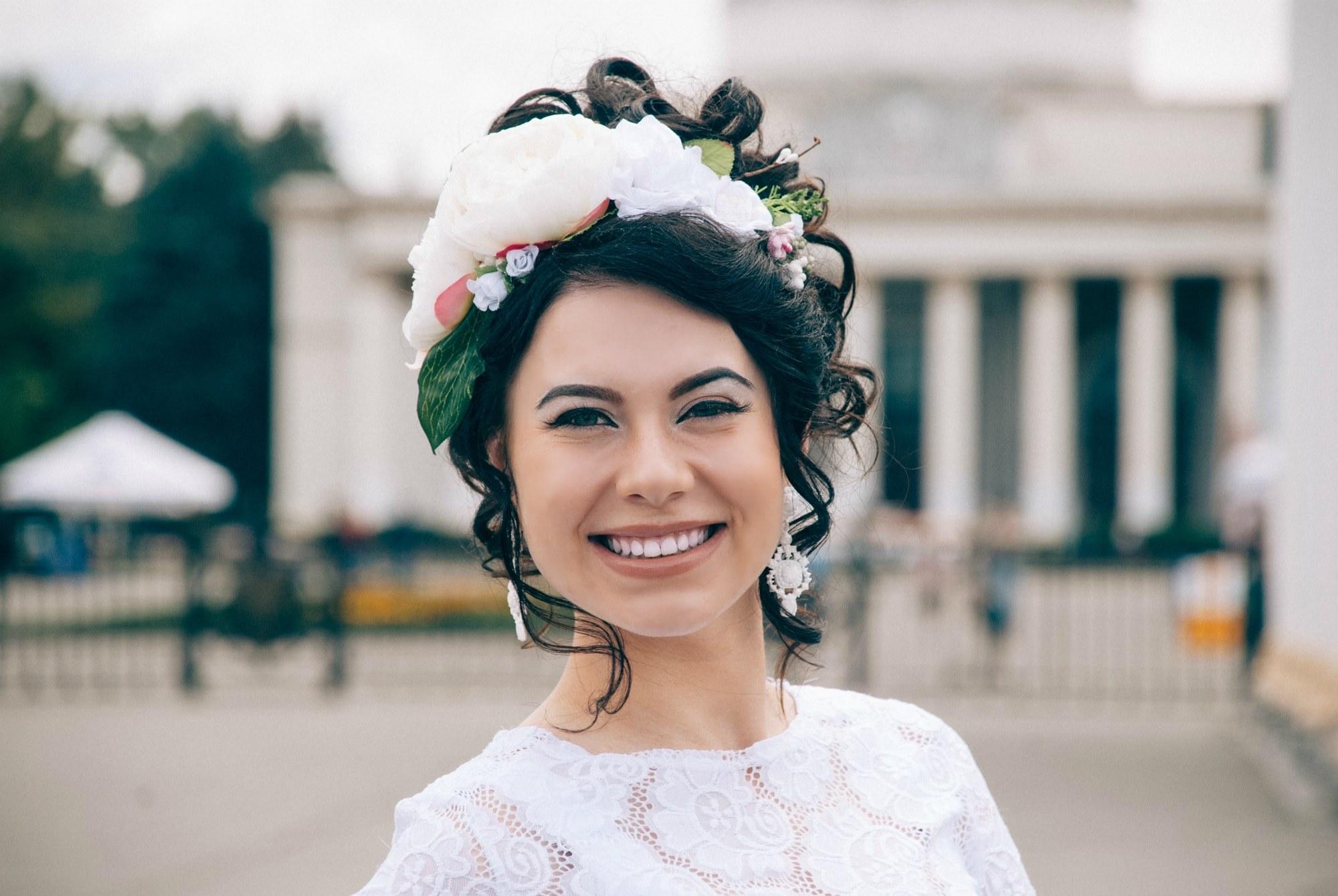 Невеста на выставке - Фотограф Киев - Женя Лайт