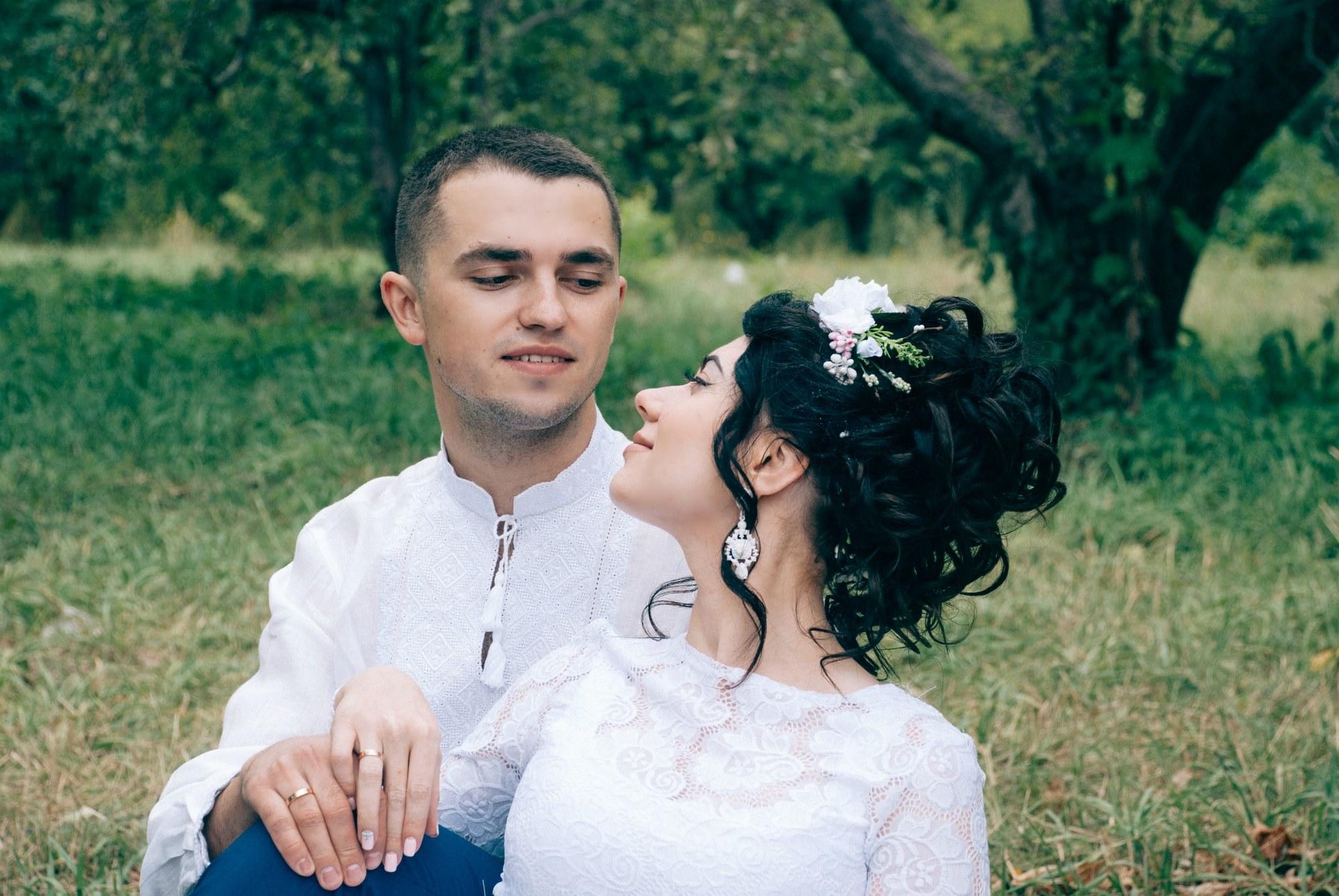 Взгляд жениха на невесту - Фотограф Киев - Женя Лайт