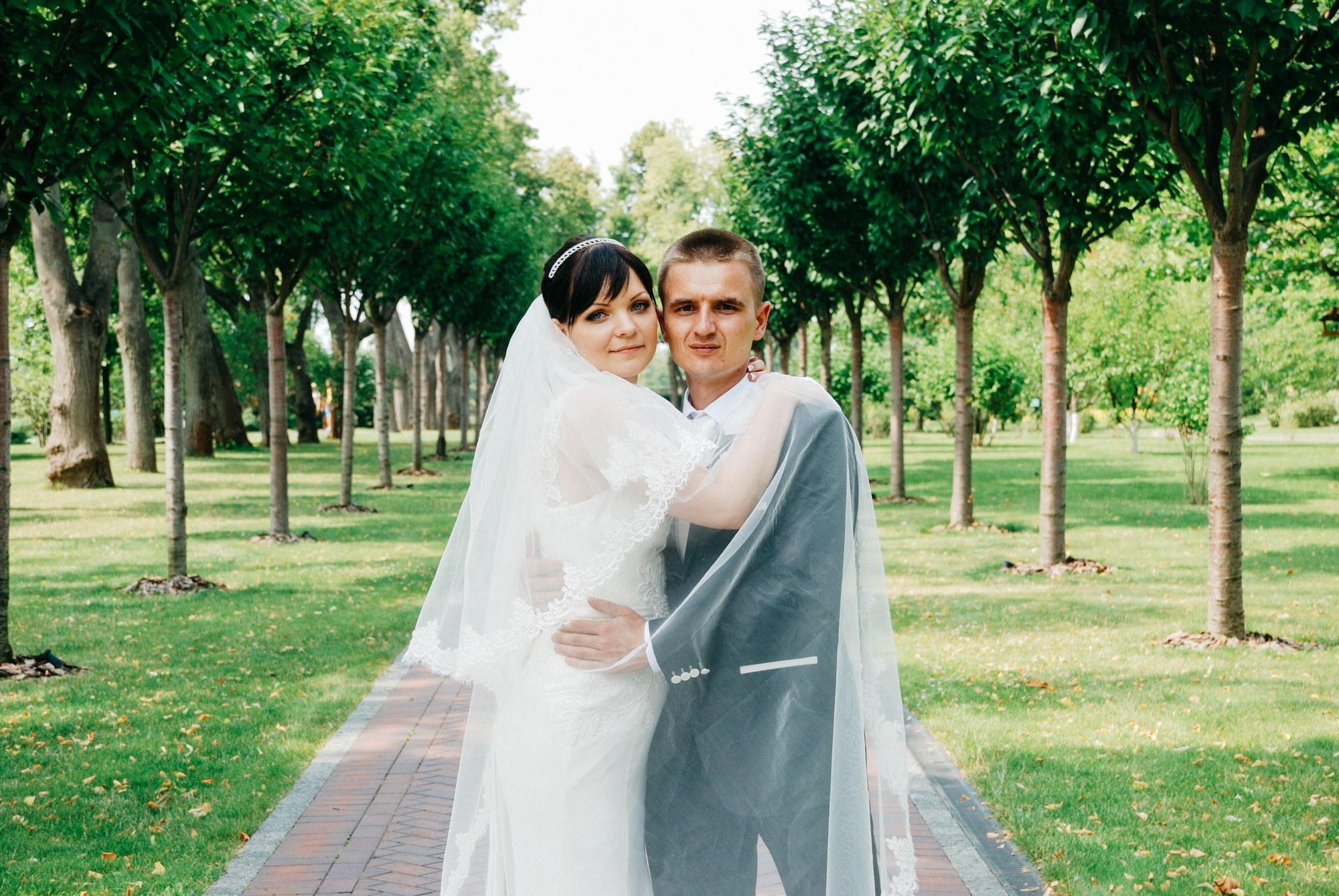 Влюбленная пара в Межигорье - Фотограф Киев - Женя Лайт