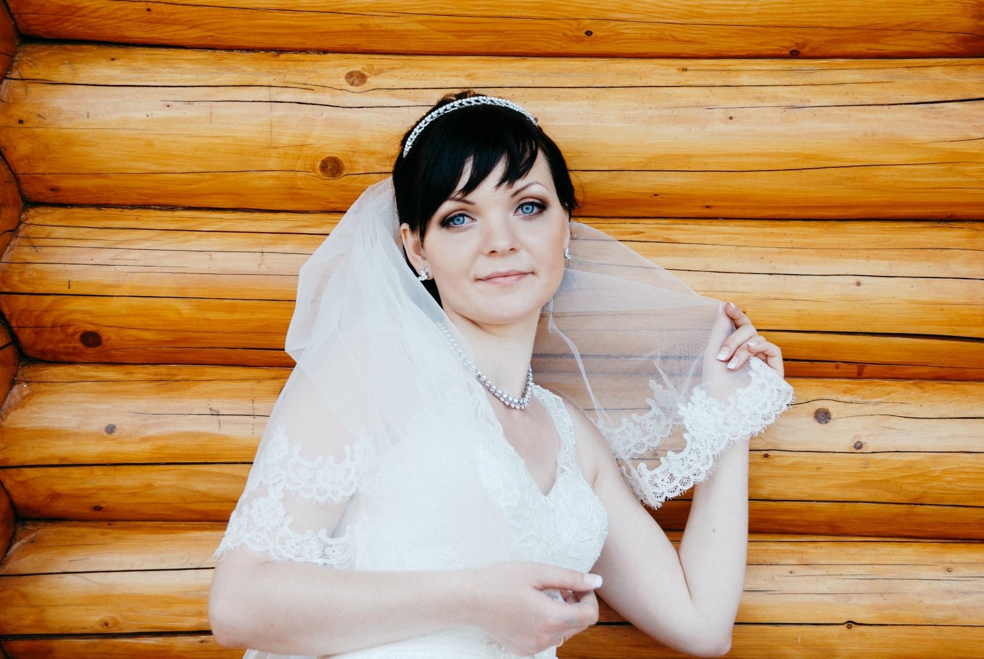 Фото невесты в Межигорье - Фотограф Киев - Женя Лайт
