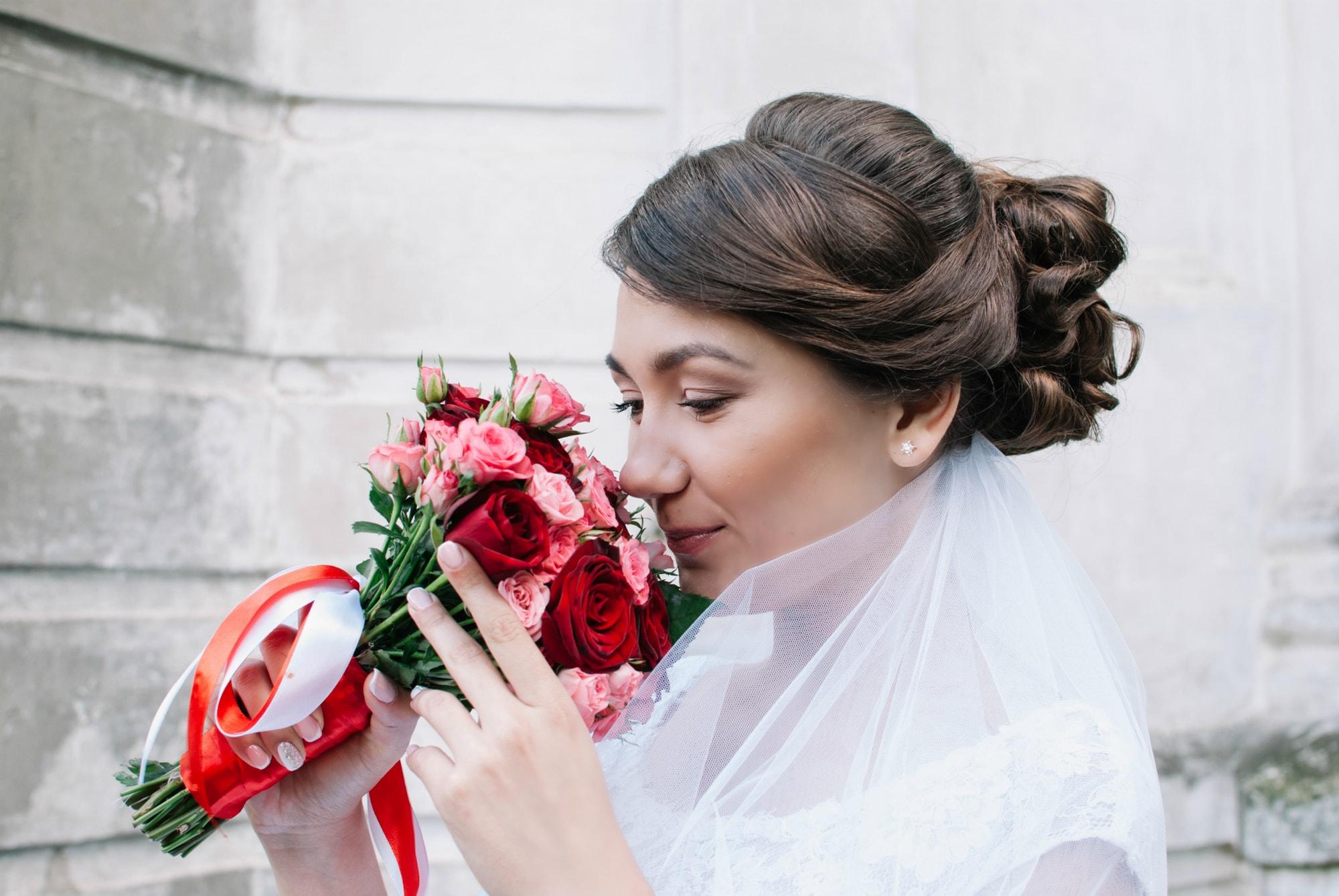 Невеста и свадебный букет - Фотограф Киев - Женя Лайт