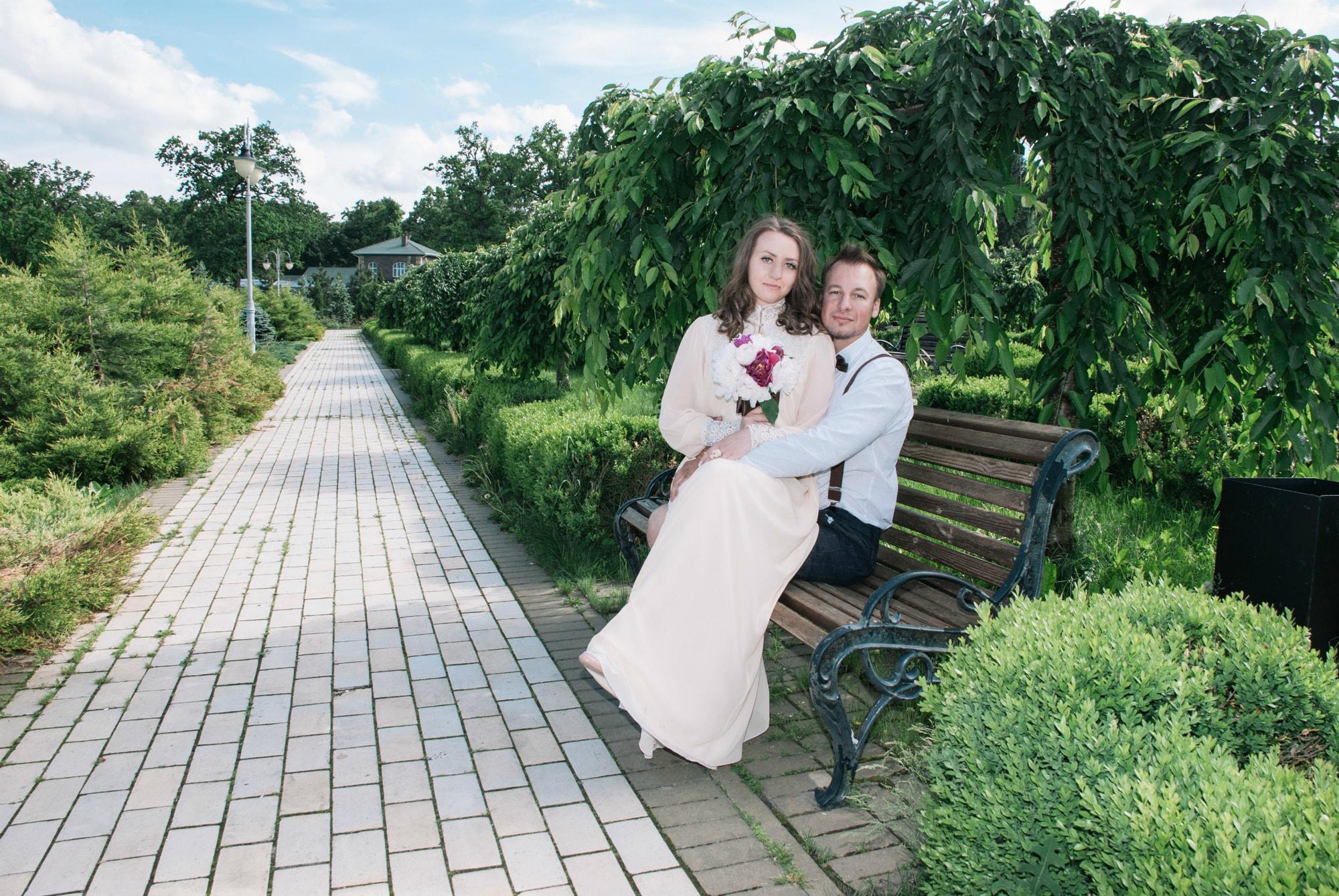 Лавстори пары в Феофании - Фотограф Киев - Женя Лайт