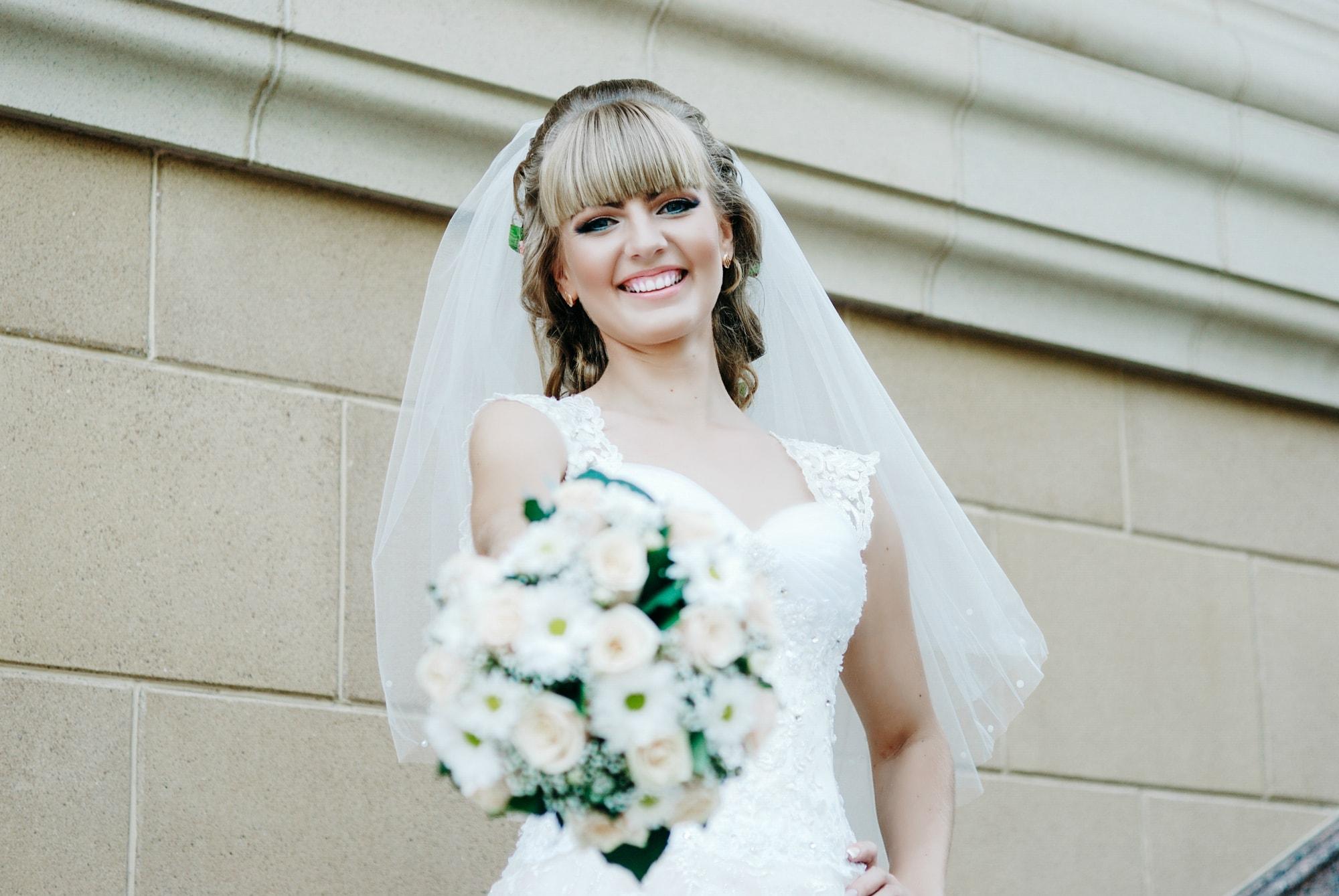 Счастливая невеста на фотосессии - Фотограф Киев - Женя Лайт
