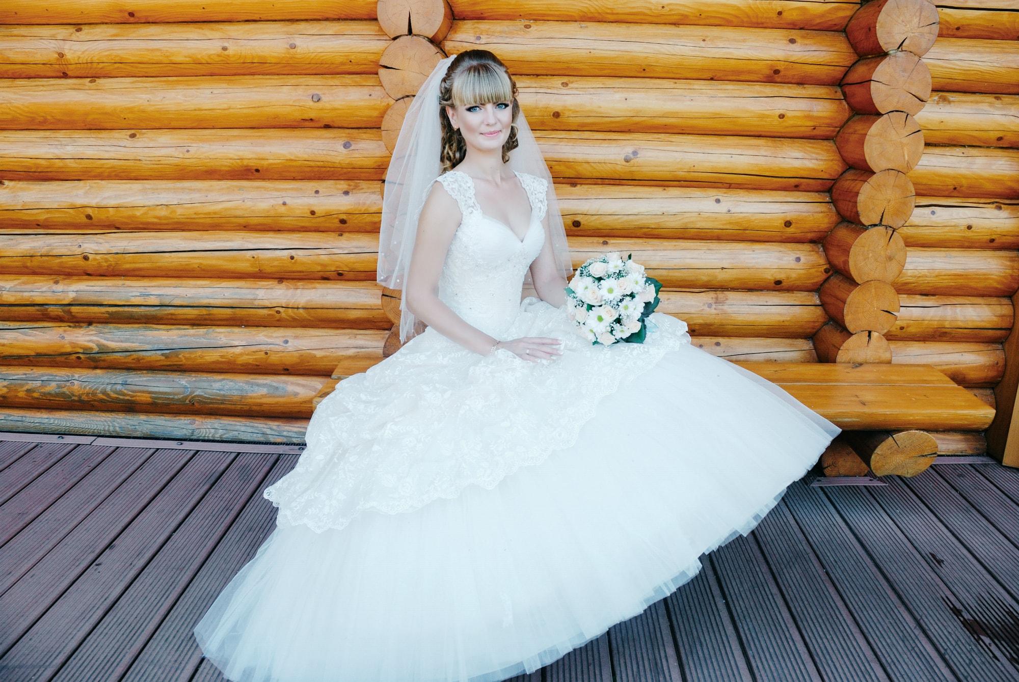 На скамейка возле избушки - Фотограф Киев - Женя Лайт
