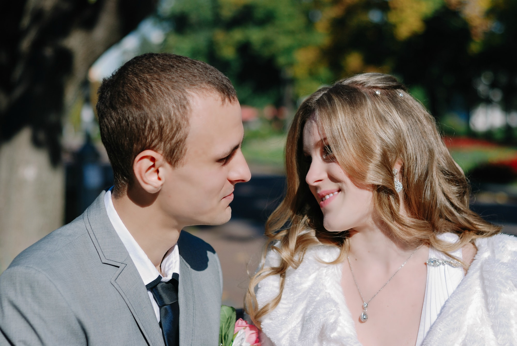 Заигрывание невесты - Фотограф Киев - Женя Лайт