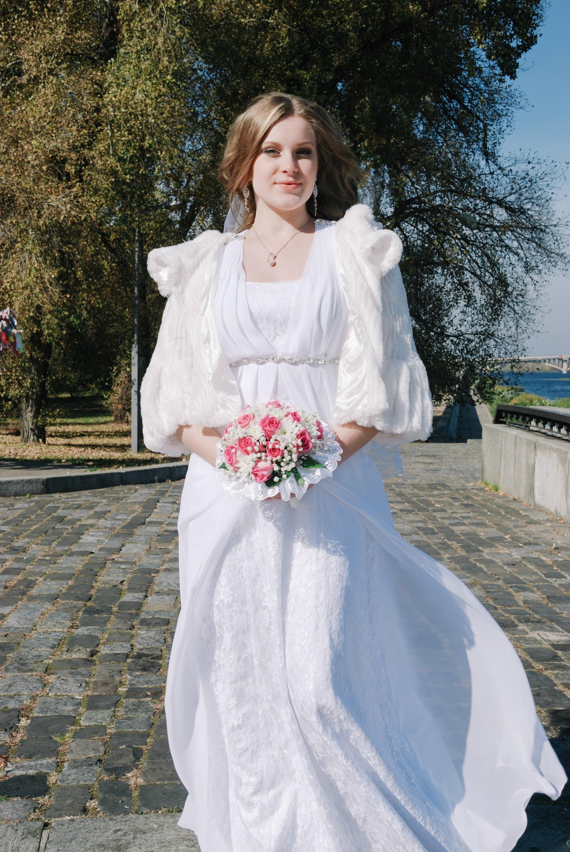 Невеста на набережной Днепра - Фотограф Киев - Женя Лайт