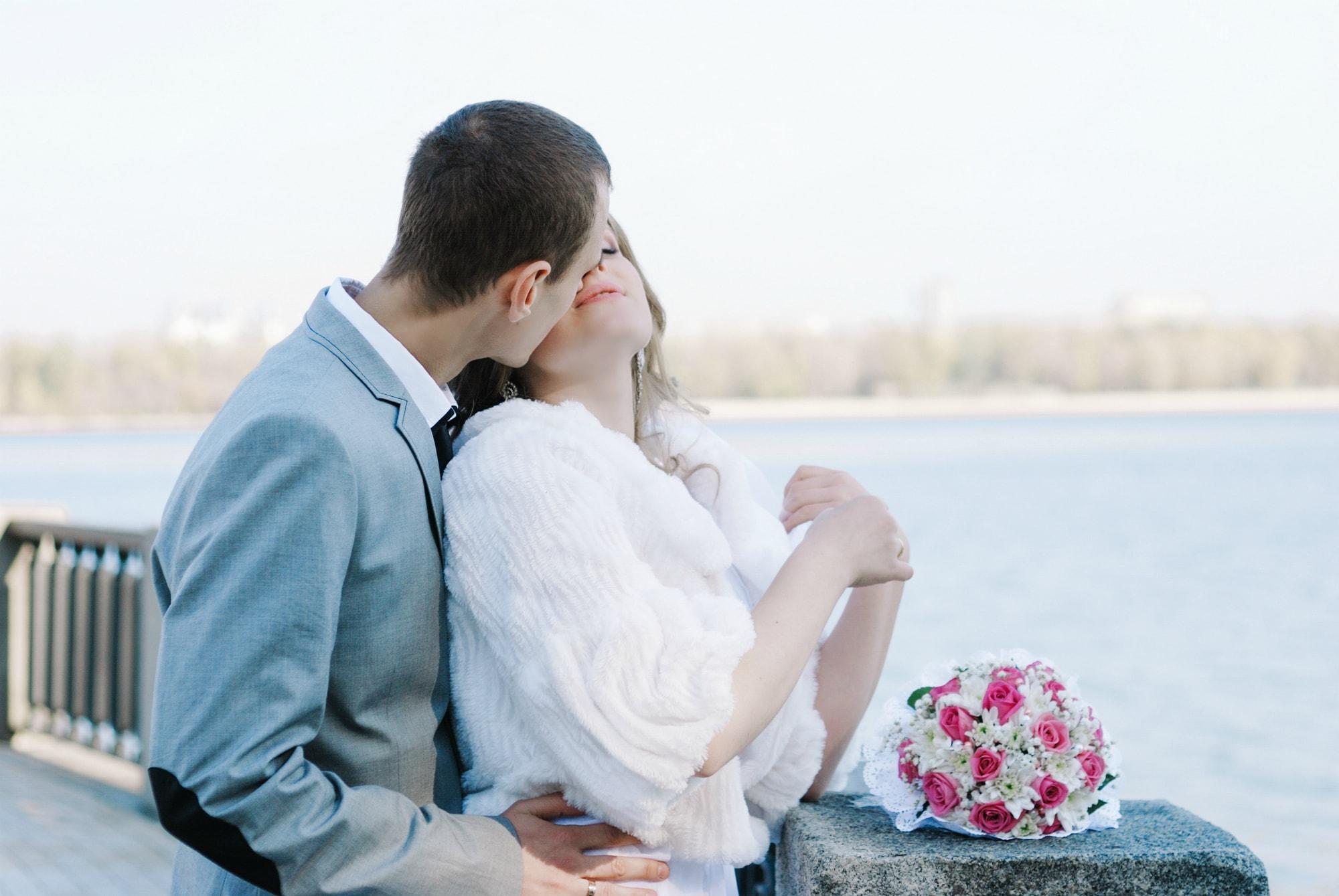 Поцелуй для невесты - Фотограф Киев - Женя Лайт