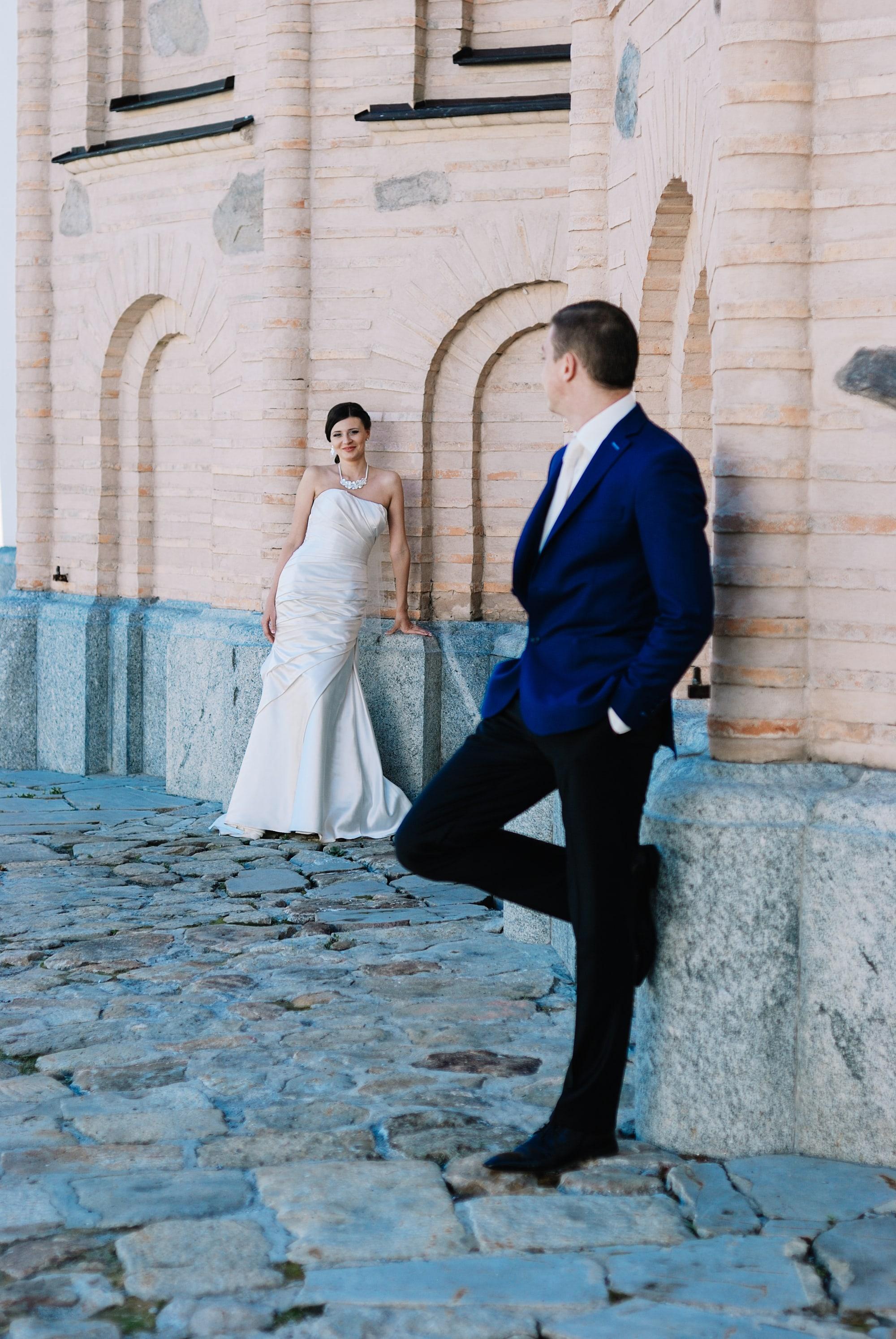 Свадебная прогулка - Фотограф Киев - Женя Лайт
