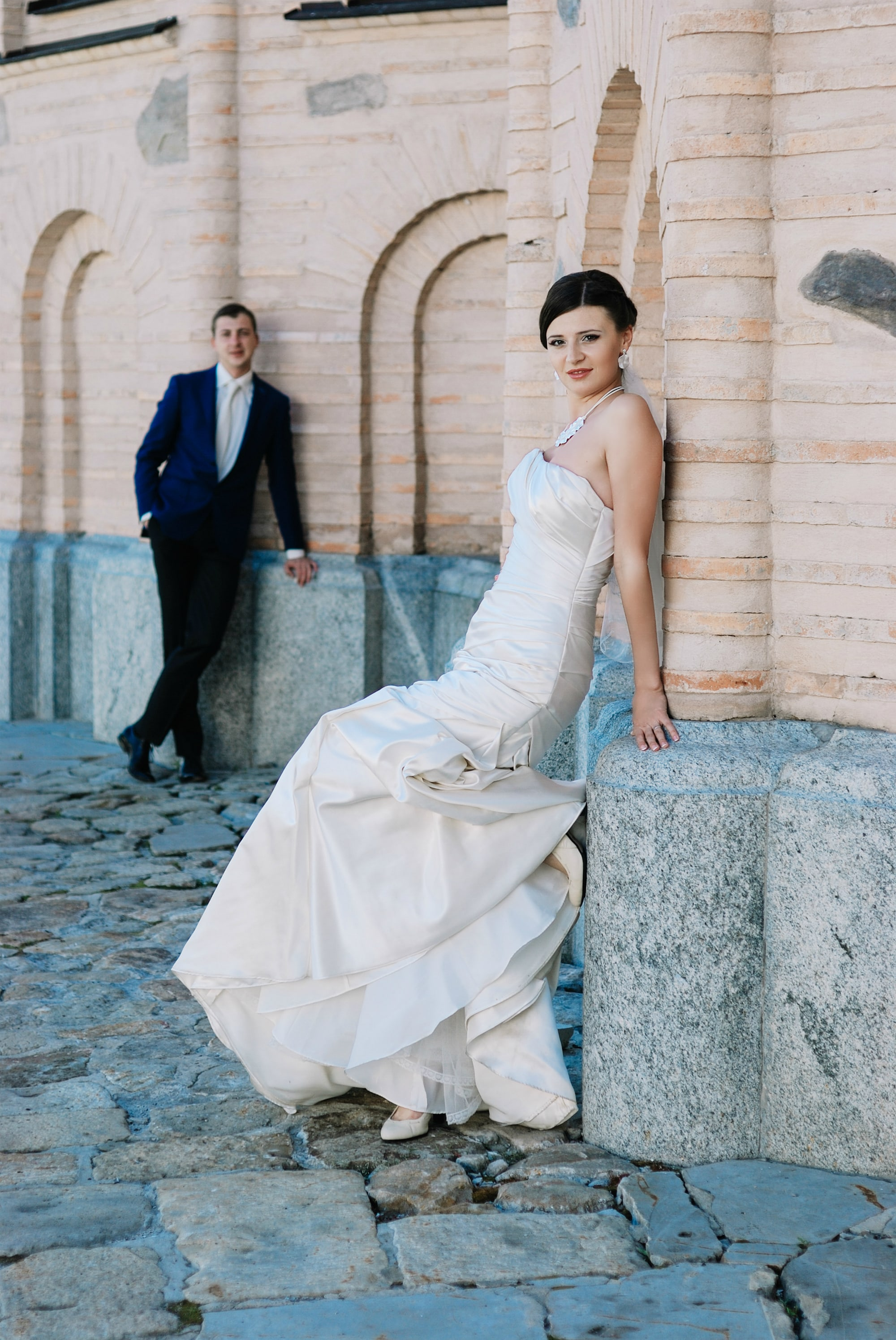Свадебная фотосъемка в Лавре - Фотограф Киев - Женя Лайт