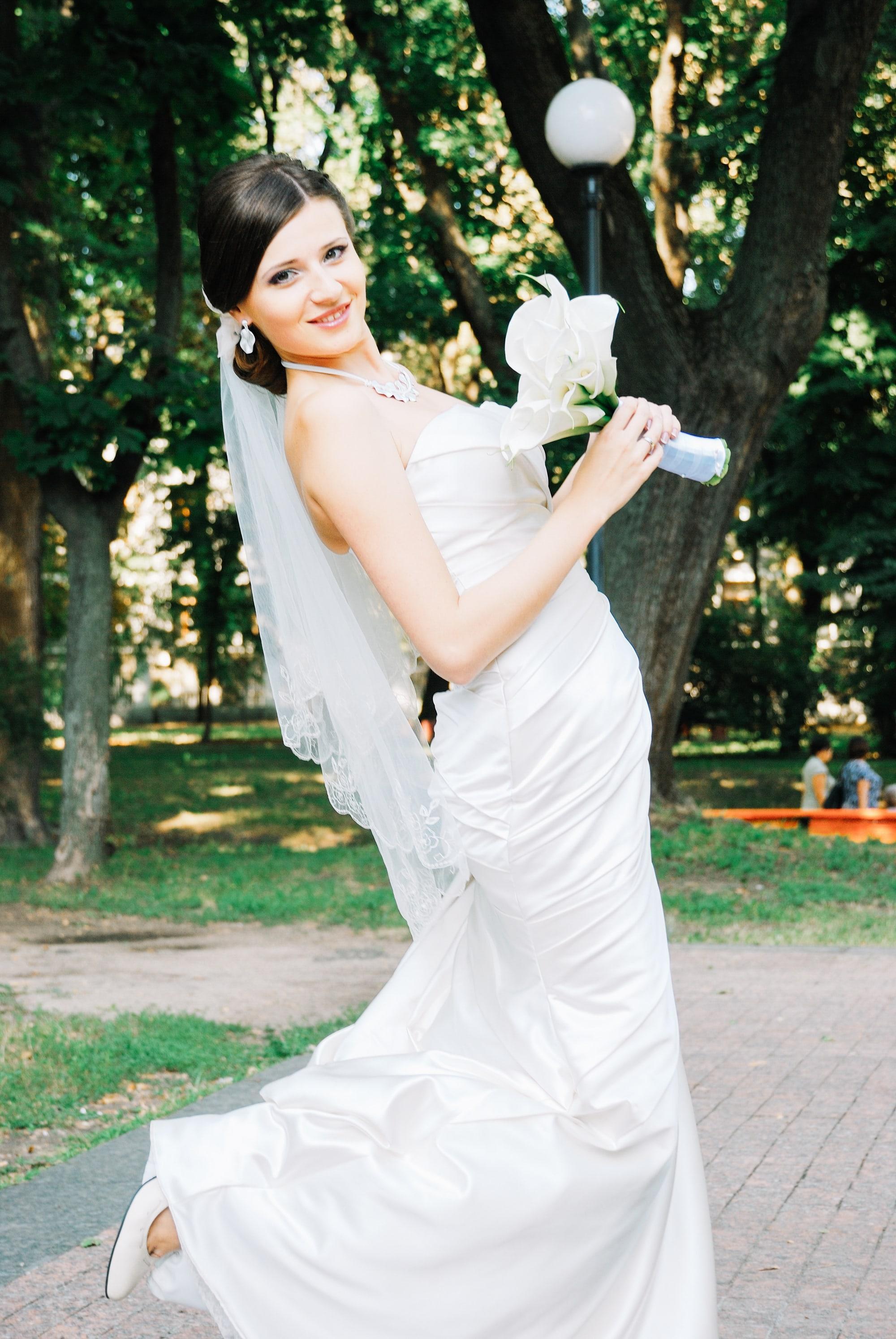 Свадебное позирование невесты - Фотограф Киев - Женя Лайт