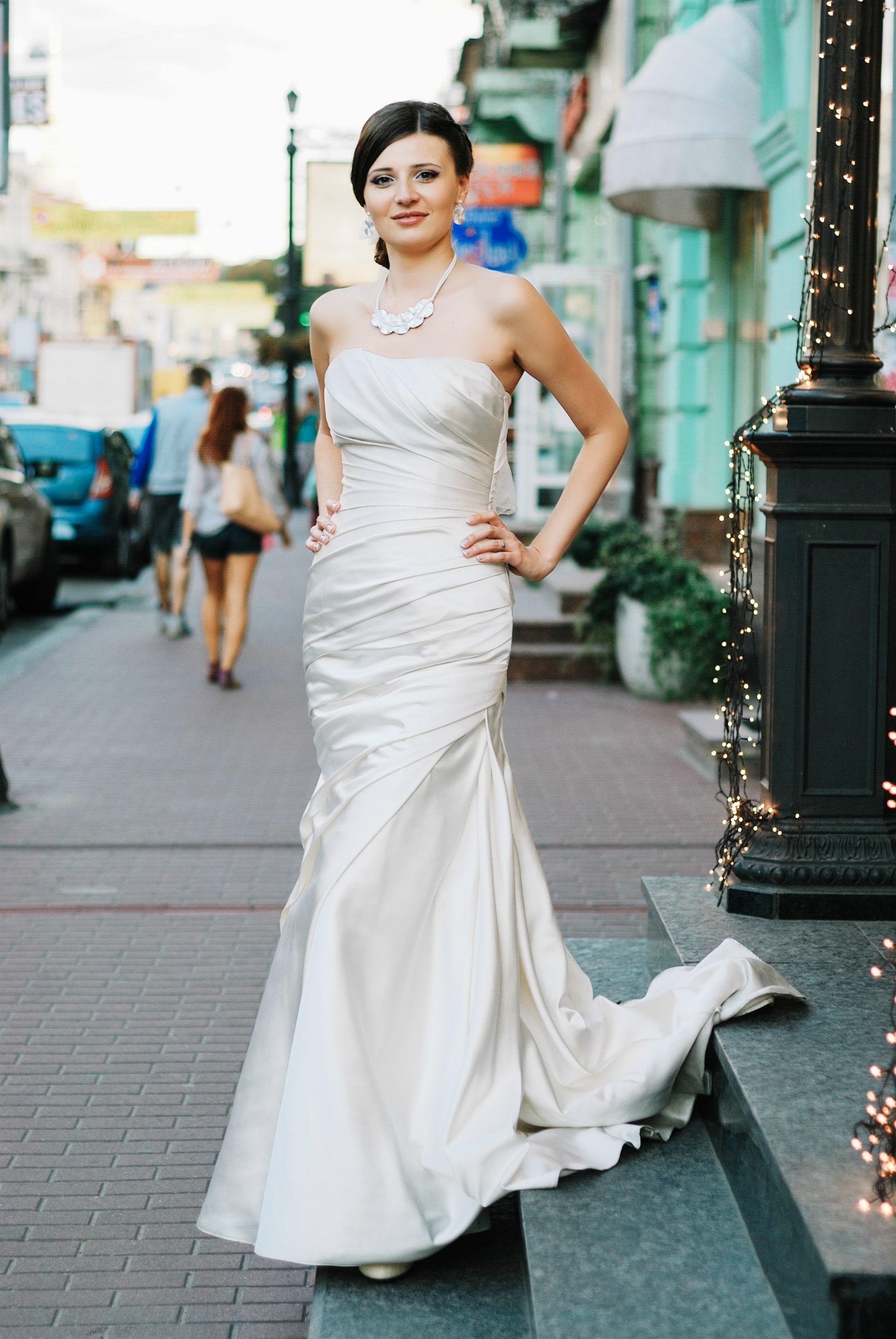 Фотосессия невесты на Подоле - Фотограф Киев - Женя Лайт