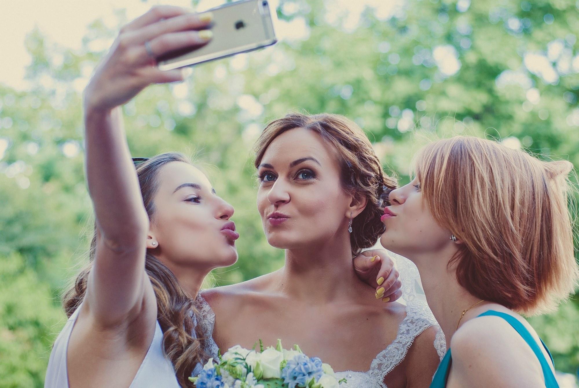 Селфи с невестой - Фотограф Киев - Женя Лайт
