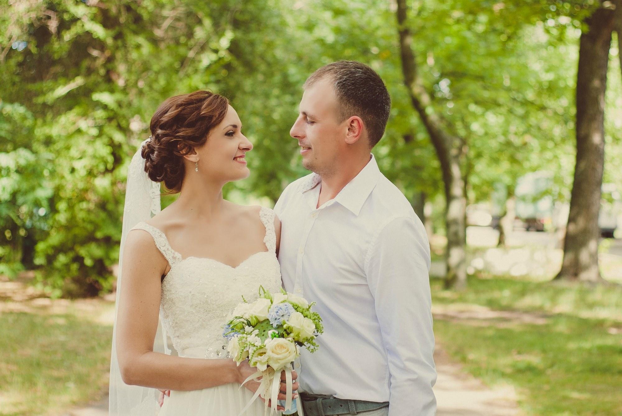 Свадебная фотосессия в Киеве - Фотограф Киев - Женя Лайт
