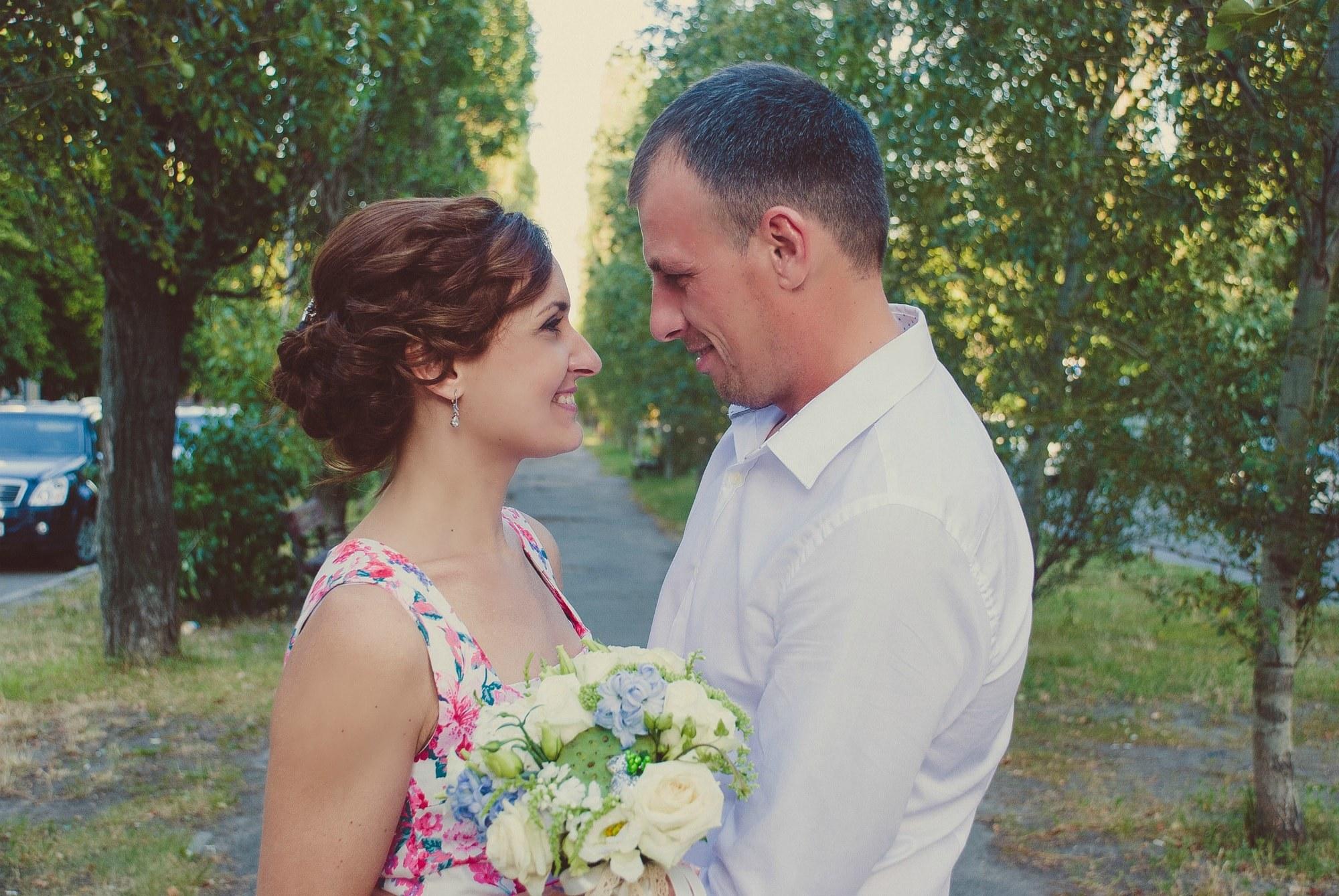 Свадебная инстаграм фотосессия - Фотограф Киев - Женя Лайт