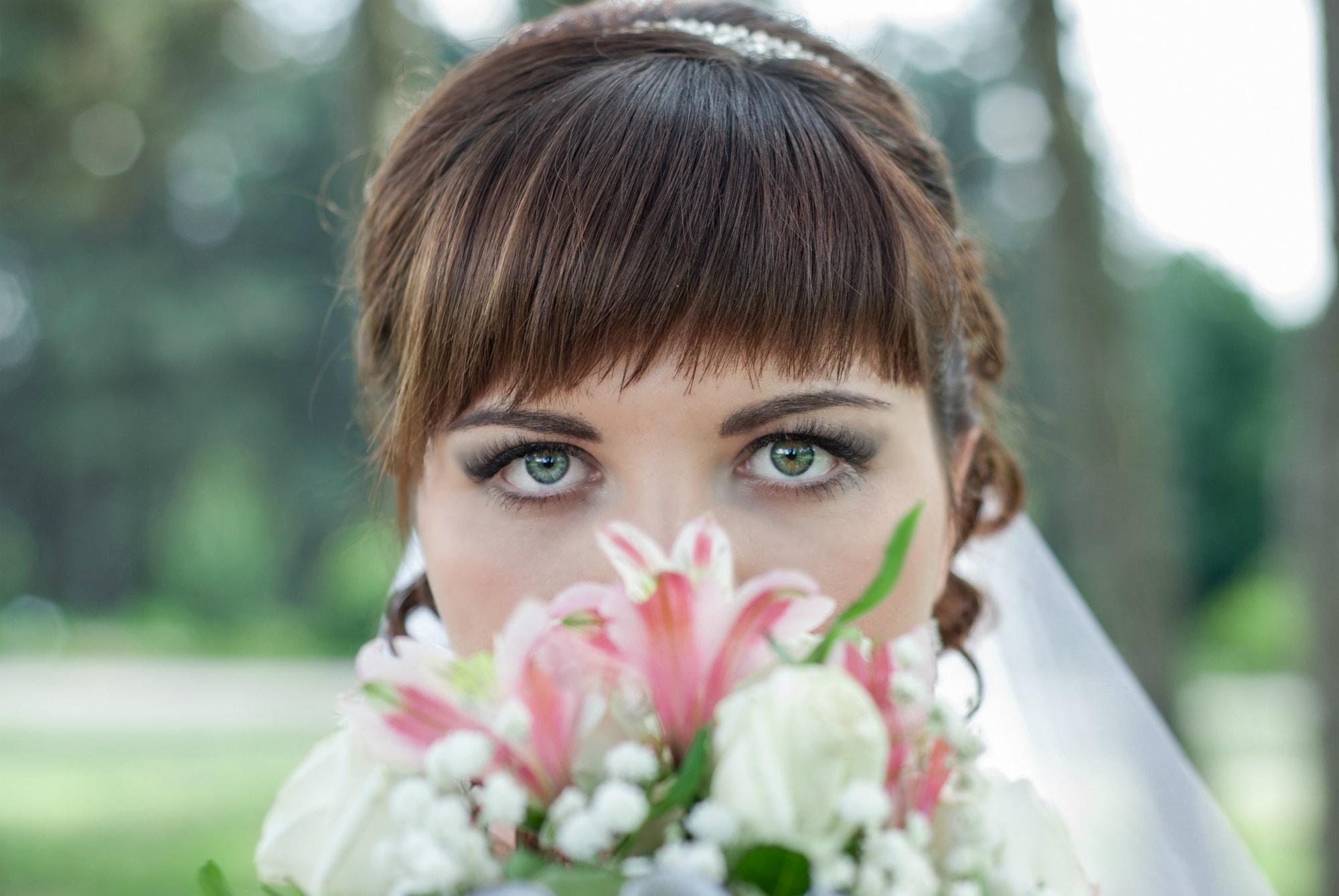 Томный взгляд невесты - Фотограф Киев - Женя Лайт