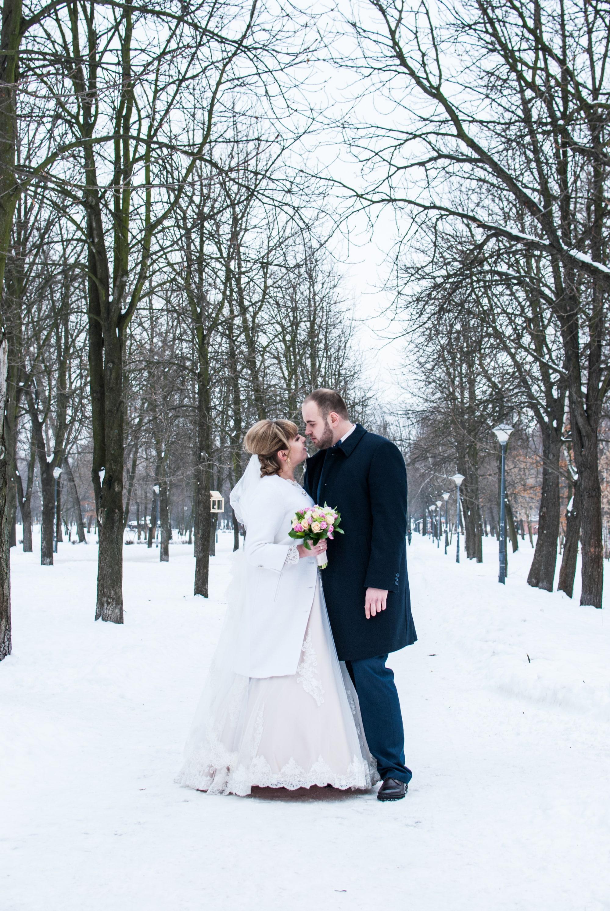 Фотосессия в зимнем парке - Фотограф Киев - Женя Лайт