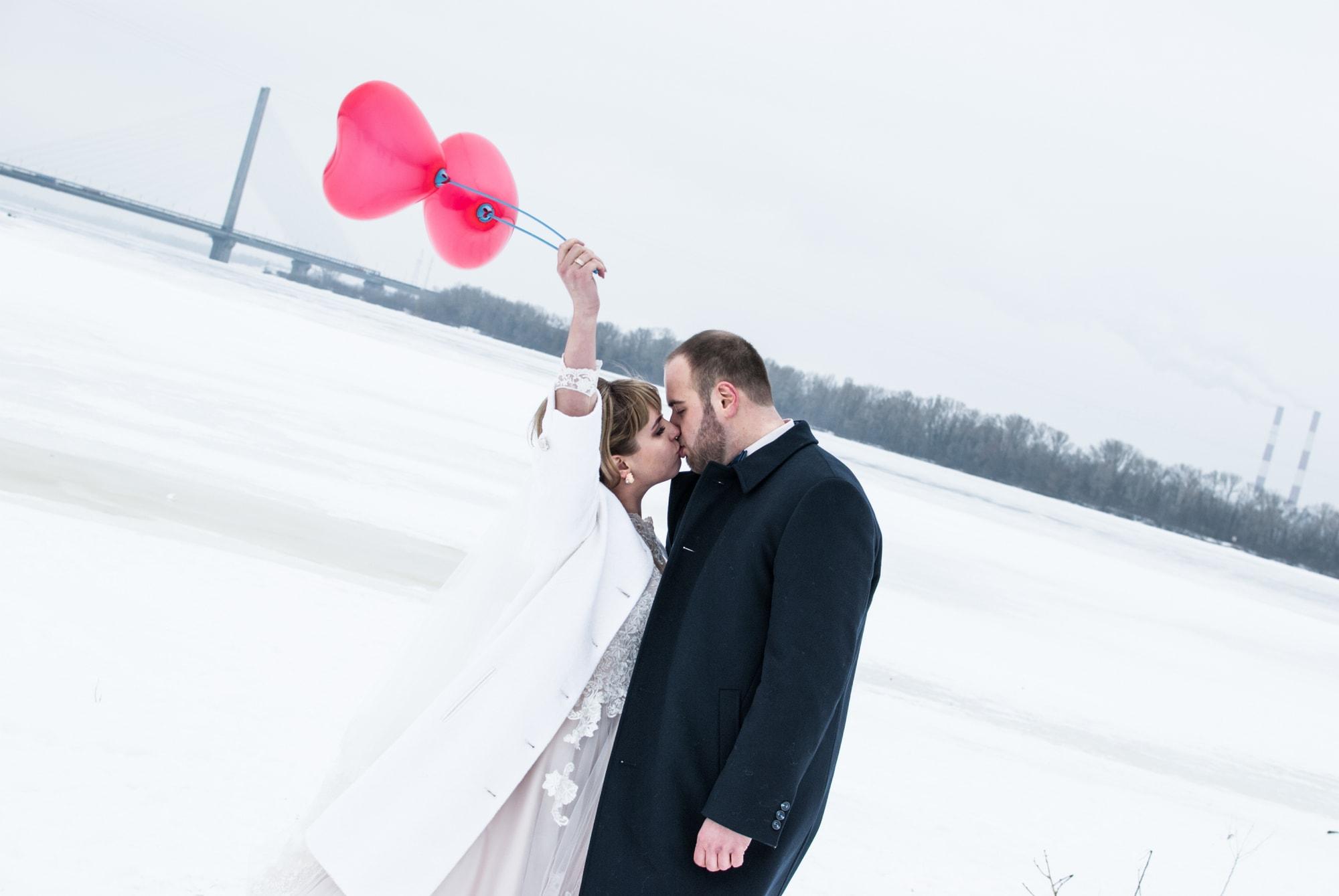 Зимняя свадьба в Киеве - Фотограф Киев - Женя Лайт